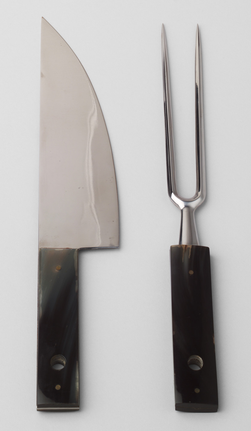 Carl Auböck. Carving Set. 1967