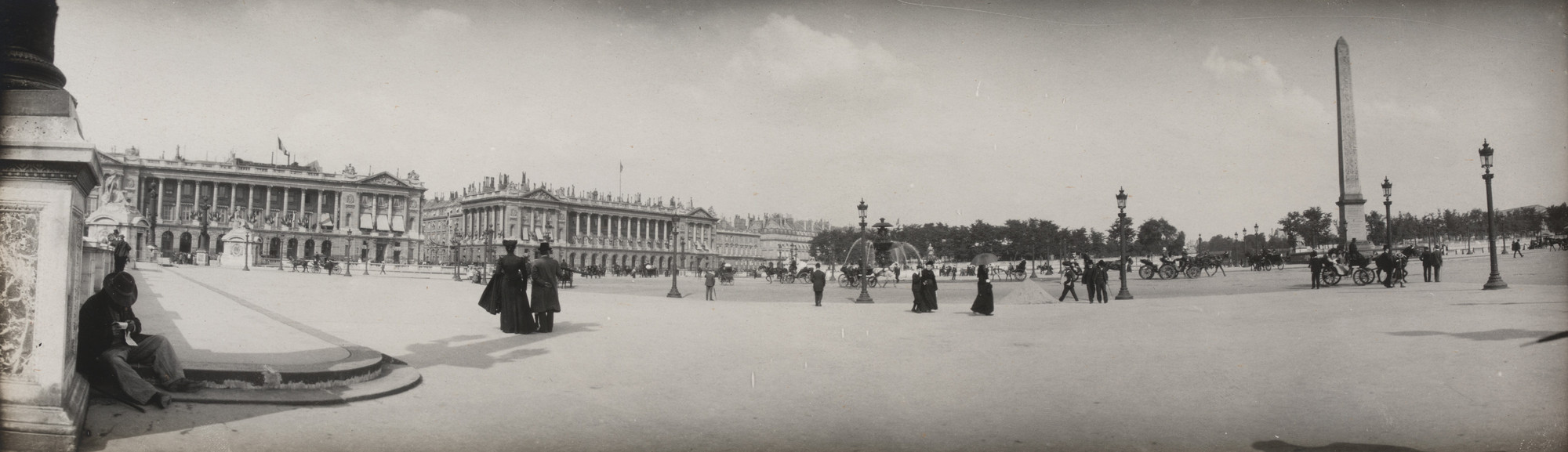 Unknown photographer. Panoramic View of Paris. c. 1900