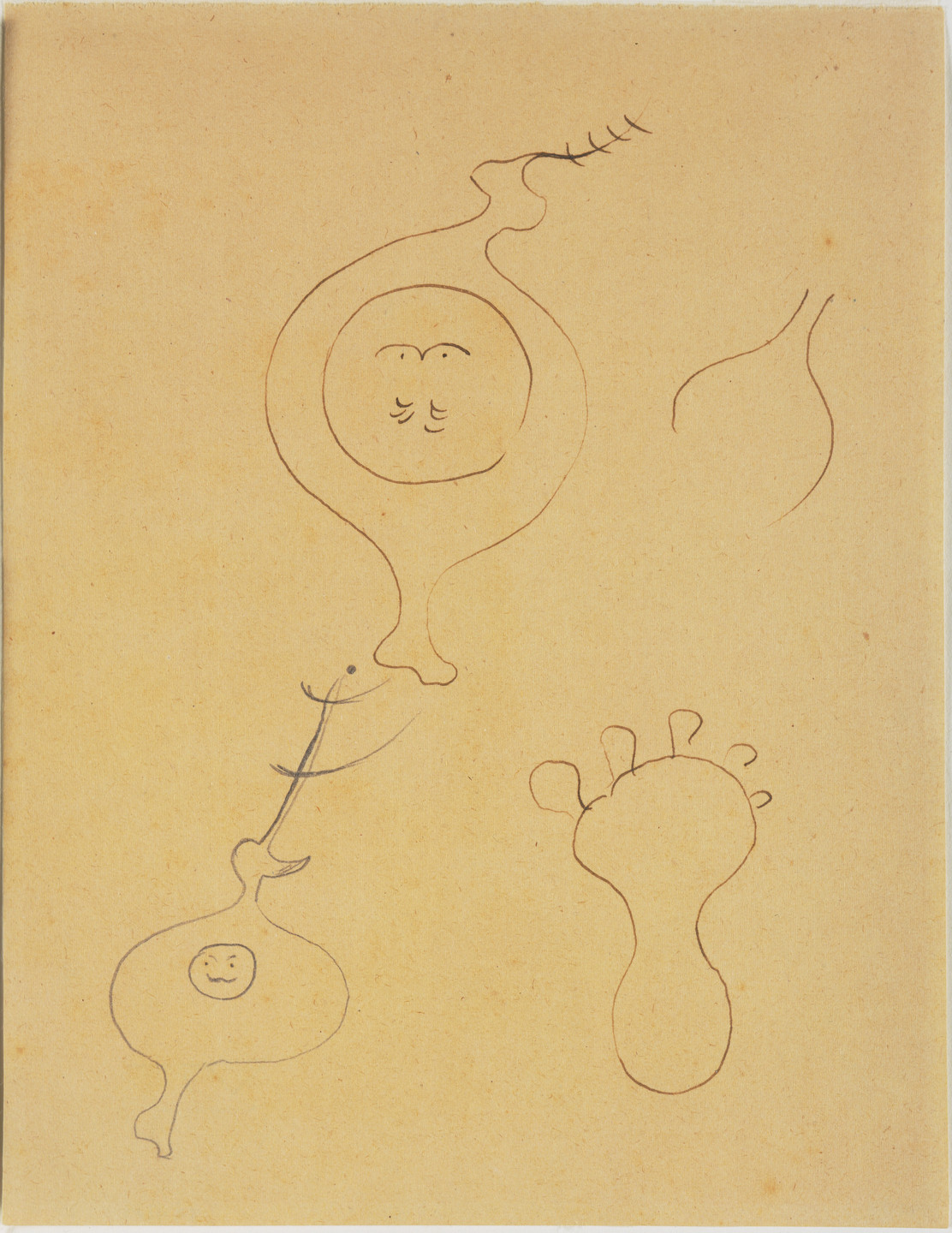 Joan Miró. Study for Dutch Interior (I). 1928