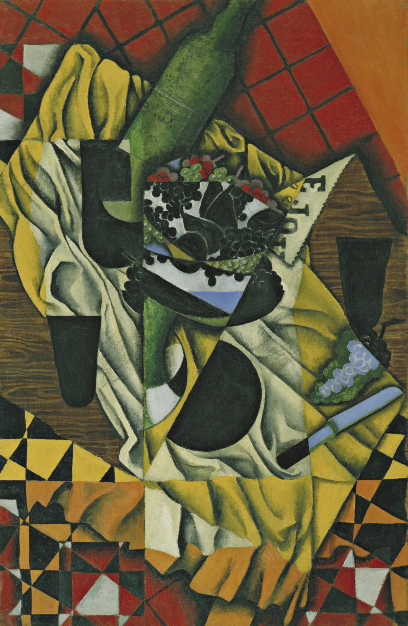 Juan Gris. Grapes. October 1913