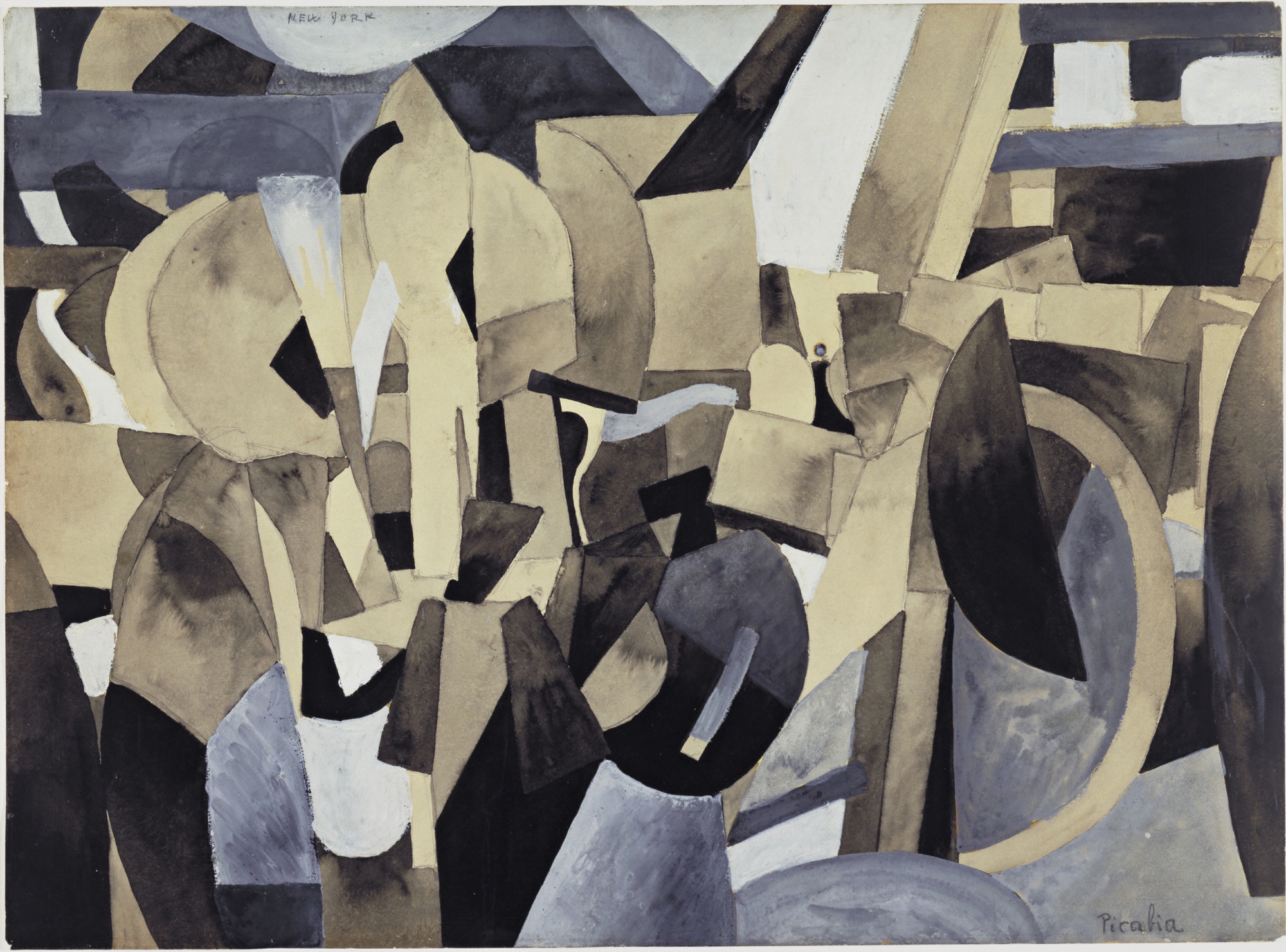 Francis Picabia. New York. (1913)