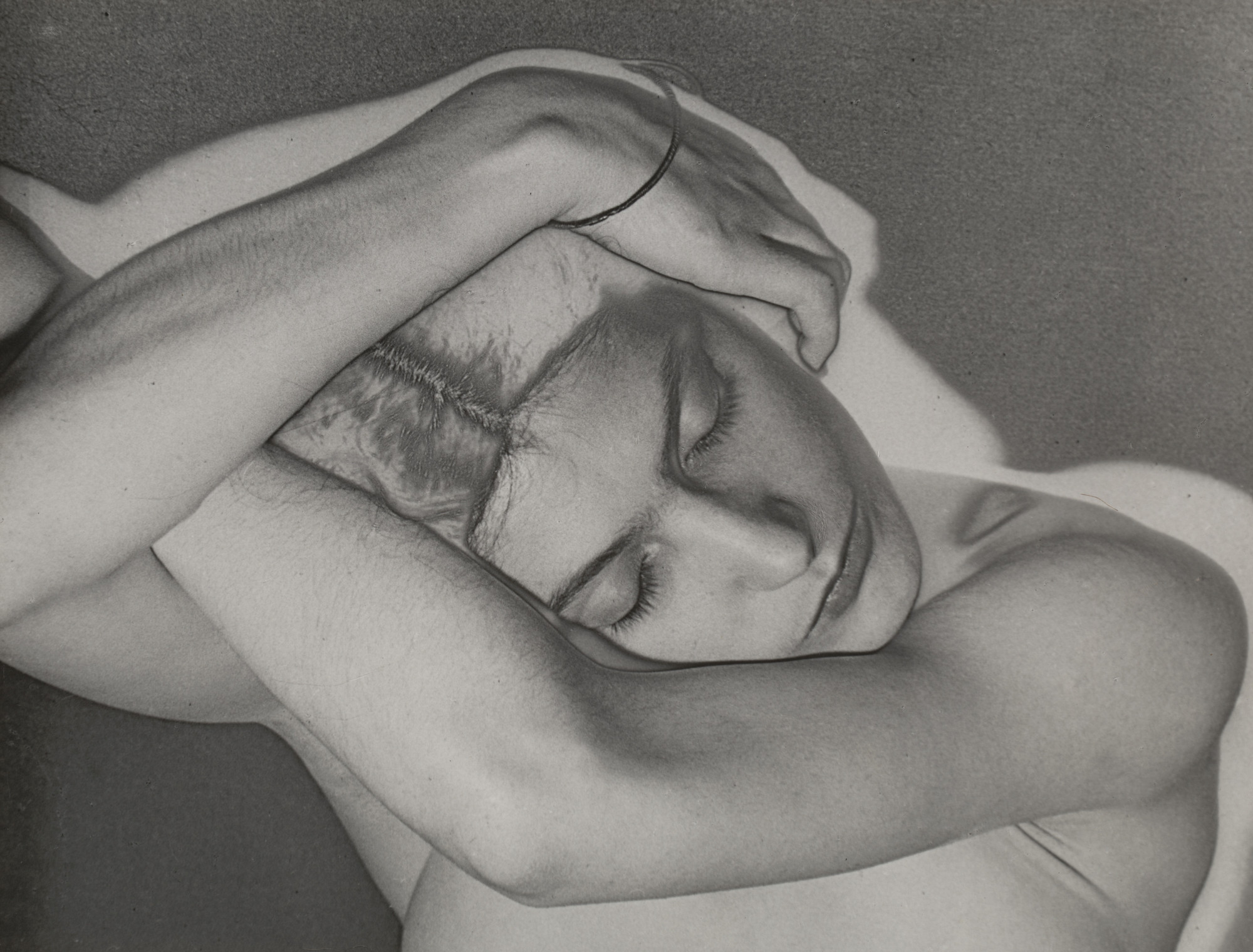 Man Ray (Emmanuel Radnitzky). Sleeping Woman. 1929
