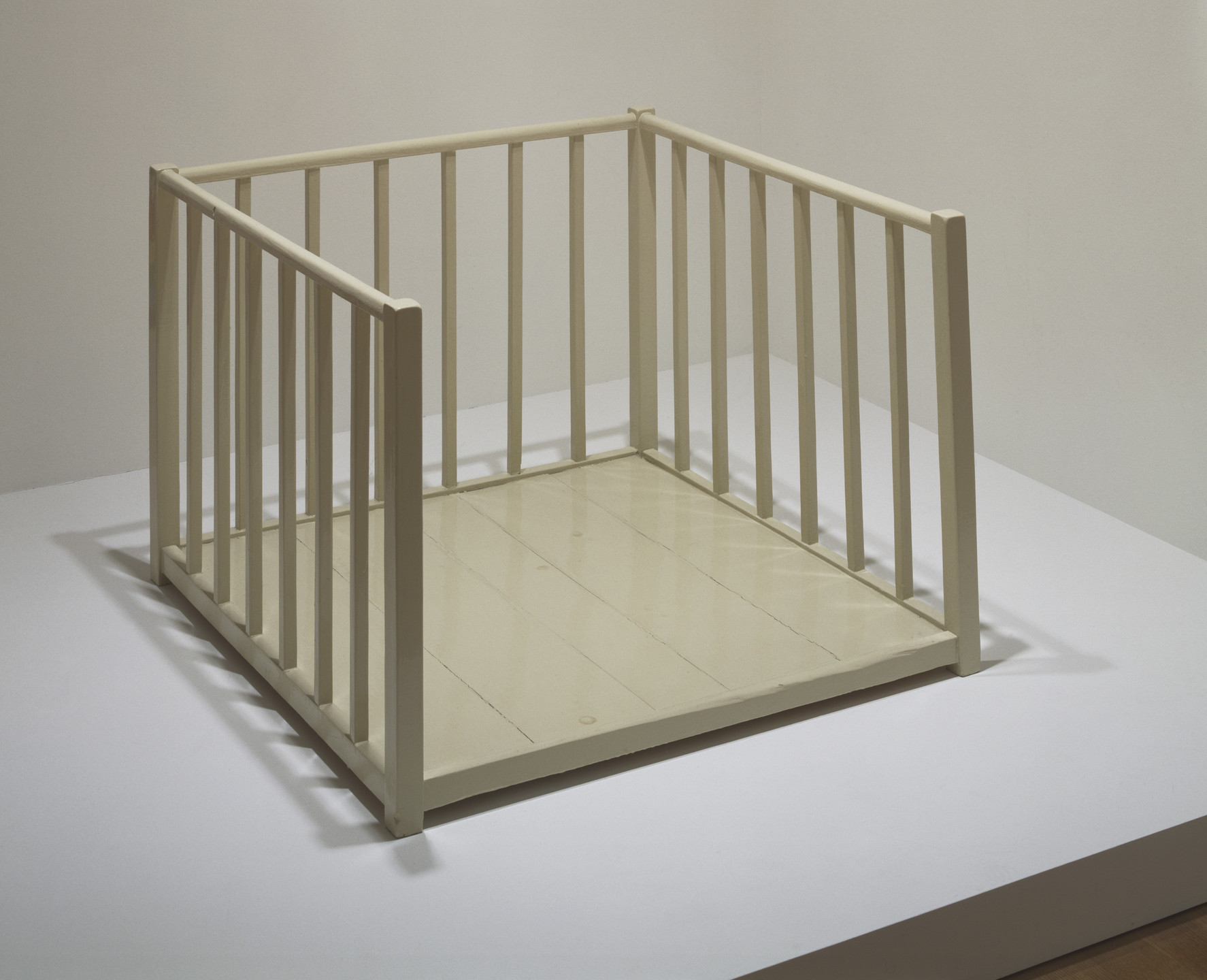Robert Gober. Open Playpen. 1987