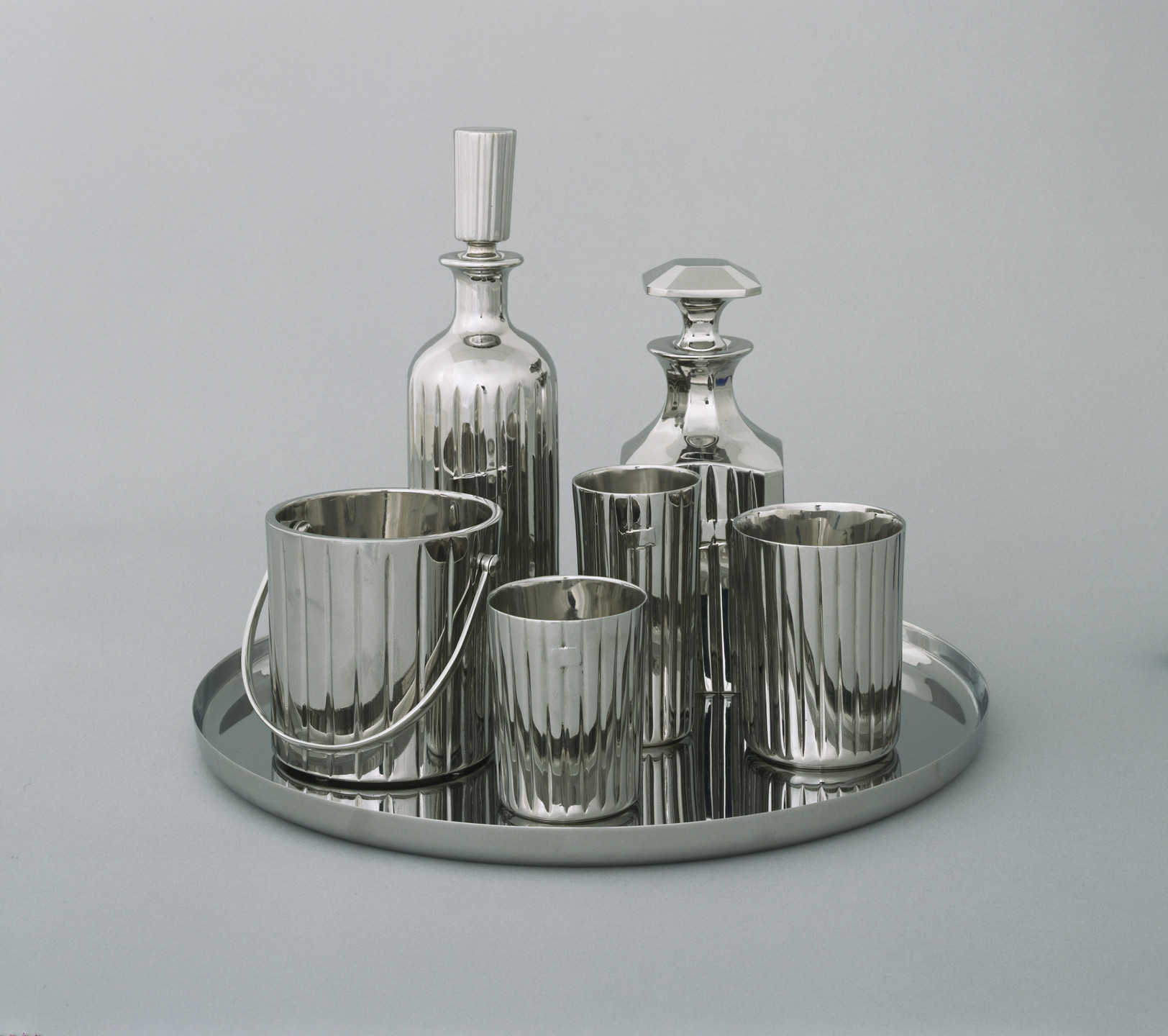 Jeff Koons. Baccarat Crystal Set. 1986