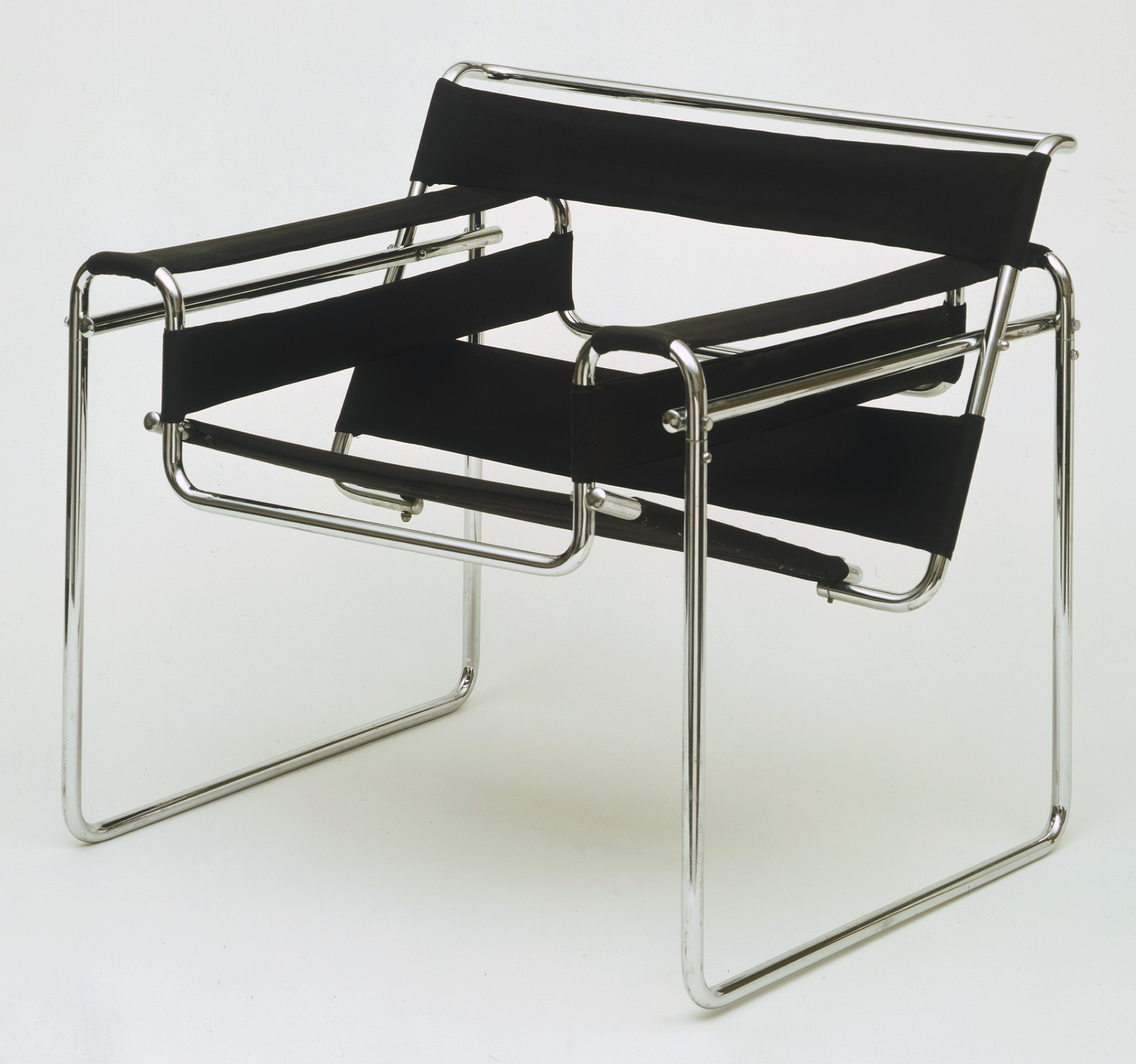 Marcel Breuer. Club chair (model B3). 1927–1928