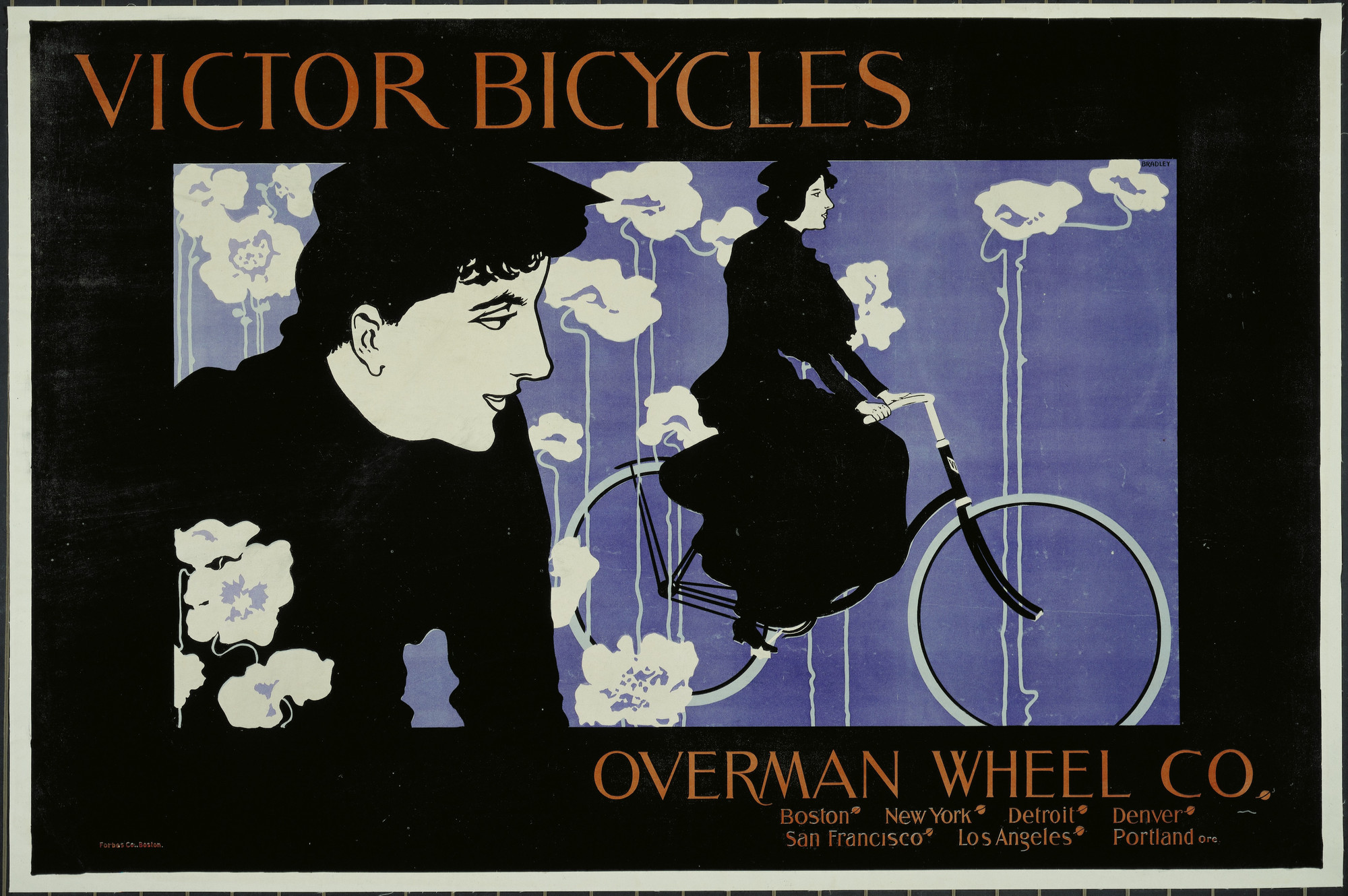 William Bradley Victor Bicycles Overman Wheel Co C 1895 Moma