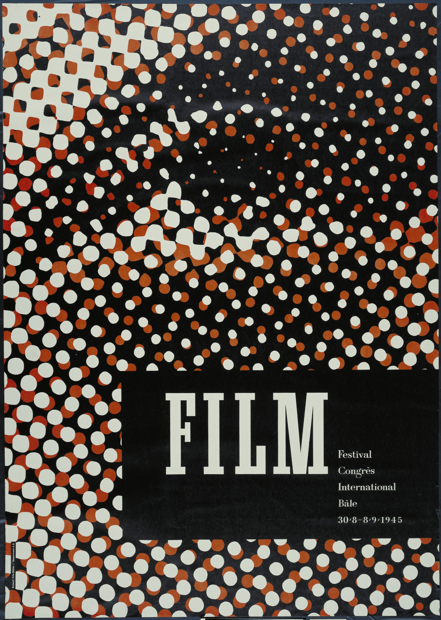 Fritz Bühler. Film/Festival Congres International Bale. 1945