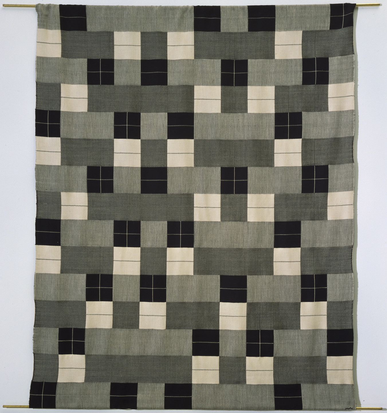 Anni Albers. Wall Hanging (Woven in 1964 under Albers' supervision from the original design). 1927
