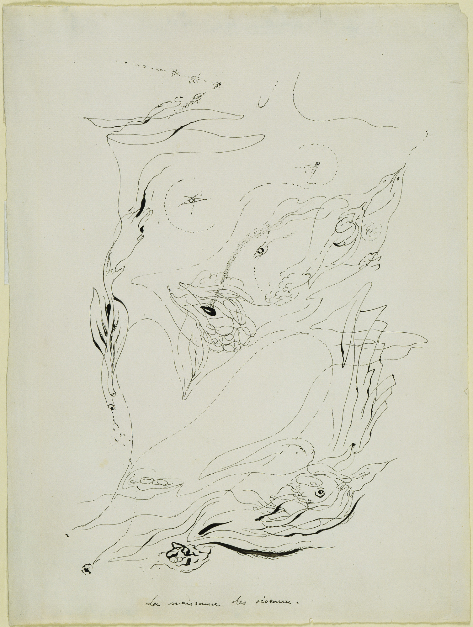 André Masson. Birth of Birds. (c. 1925)