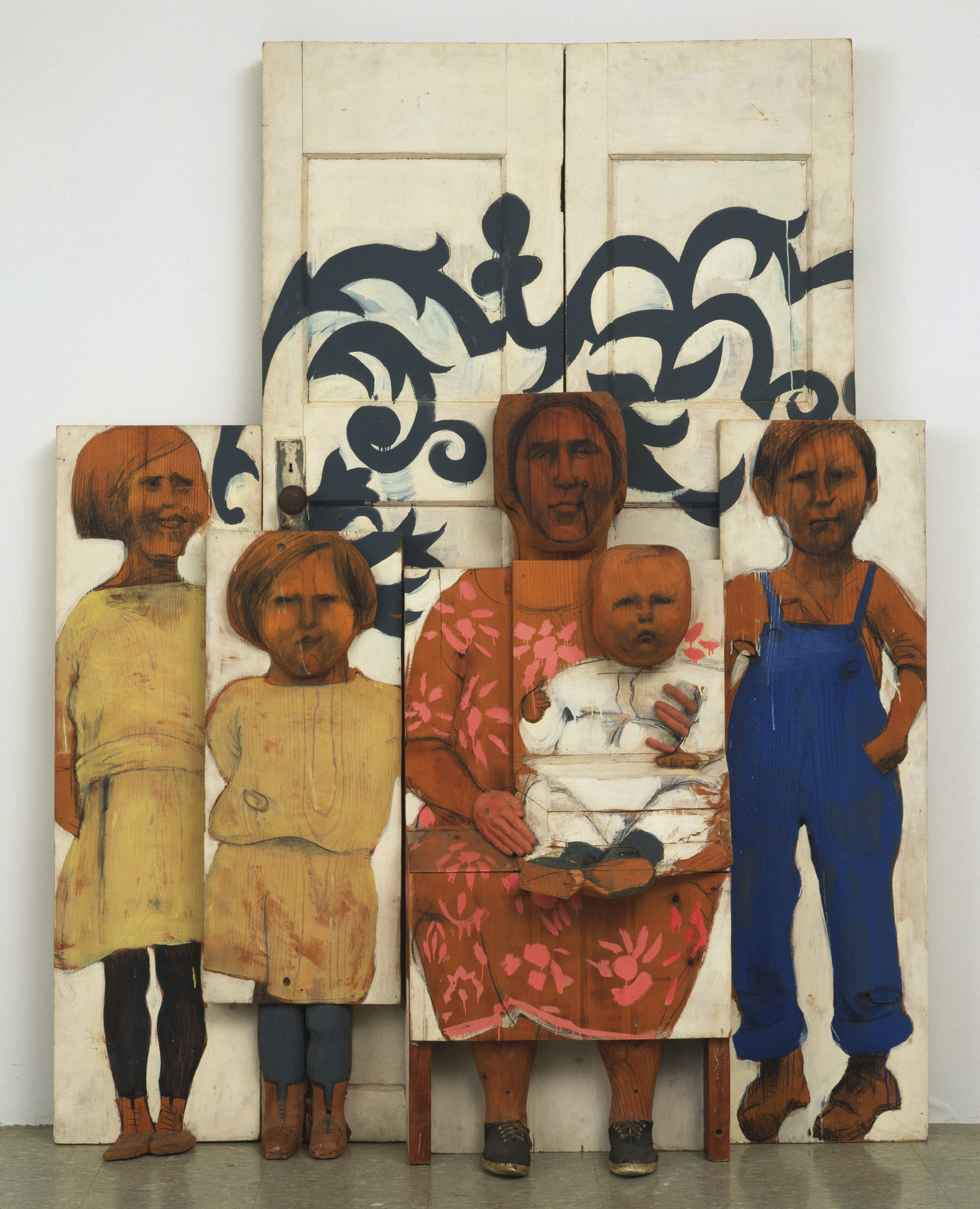 Marisol (Marisol Escobar). The Family. 1962