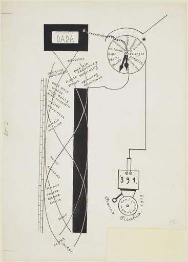 Francis Picabia. Dada Movement (Mouvement Dada). 1919