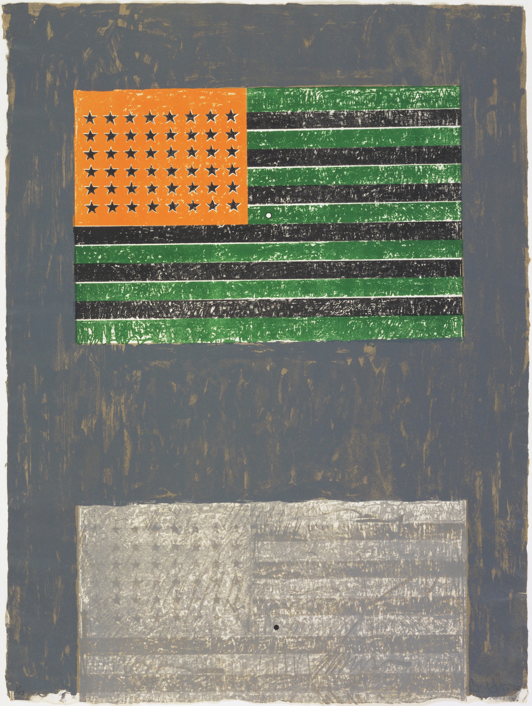 Jasper Johns. Flags. 1967–68, published 1968