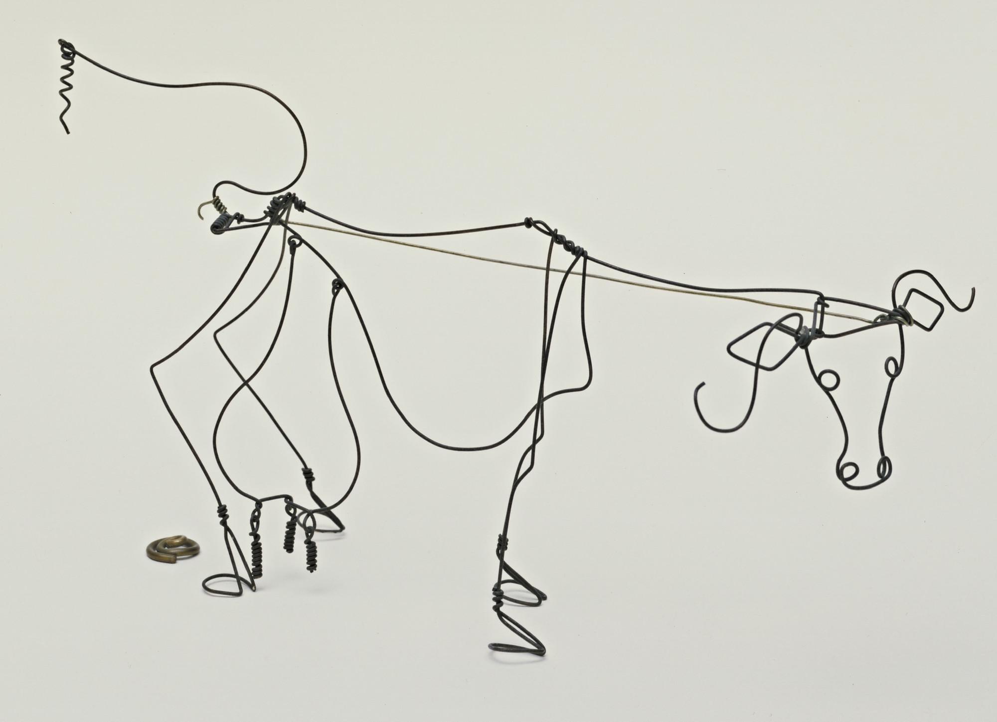 Alexander Calder. Cow. 1929   MoMA