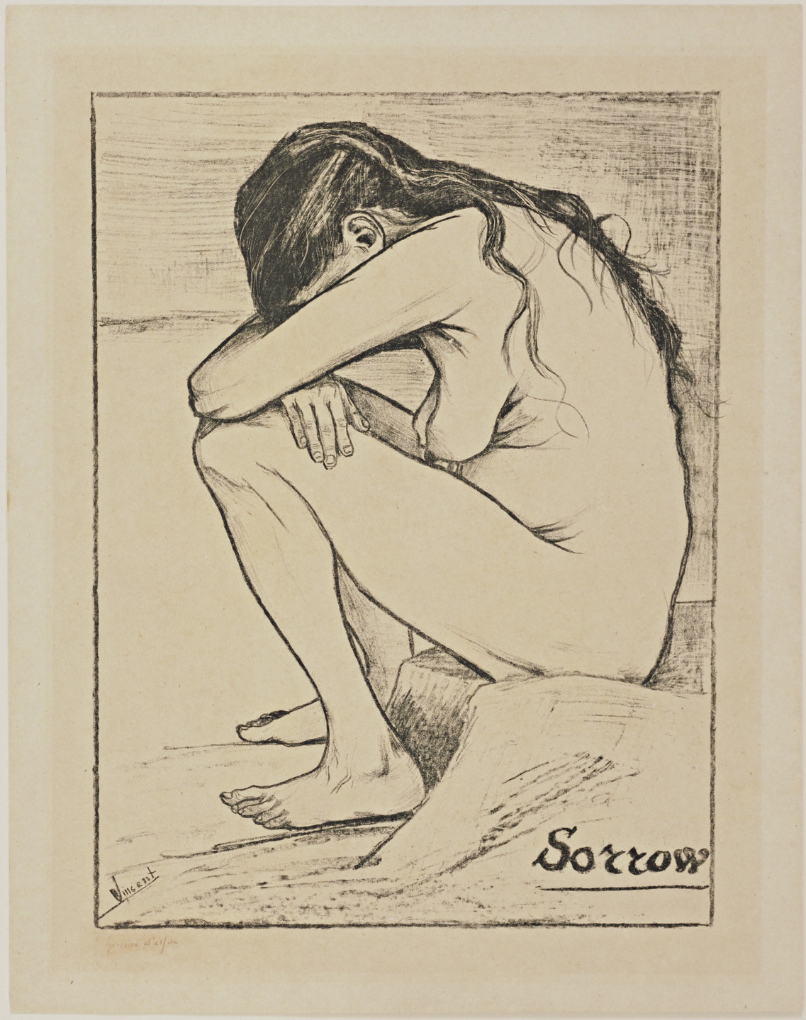 Vincent van Gogh. Sorrow. November 1882