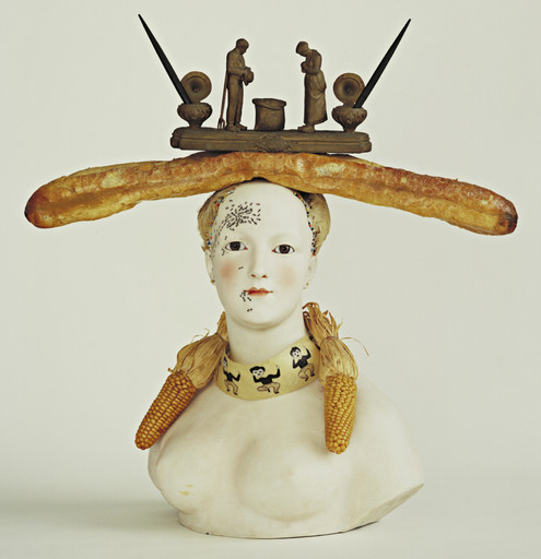 Salvador Dalí. Retrospective Bust of a Woman. 1933 (some elements reconstructed 1970)