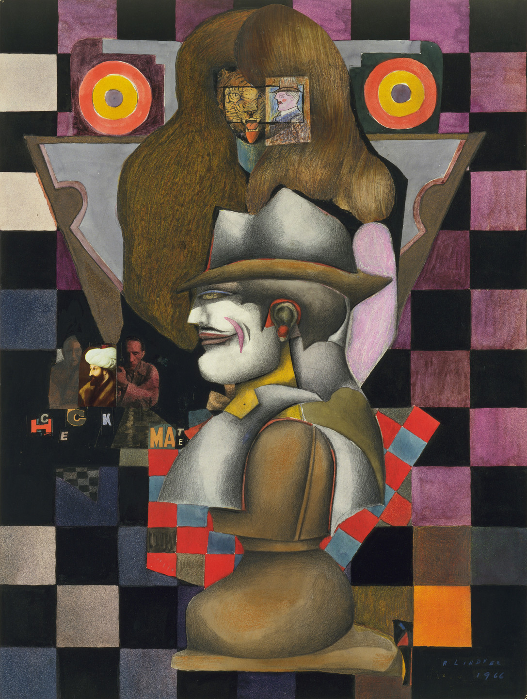 Richard Lindner. Checkmate. 1966