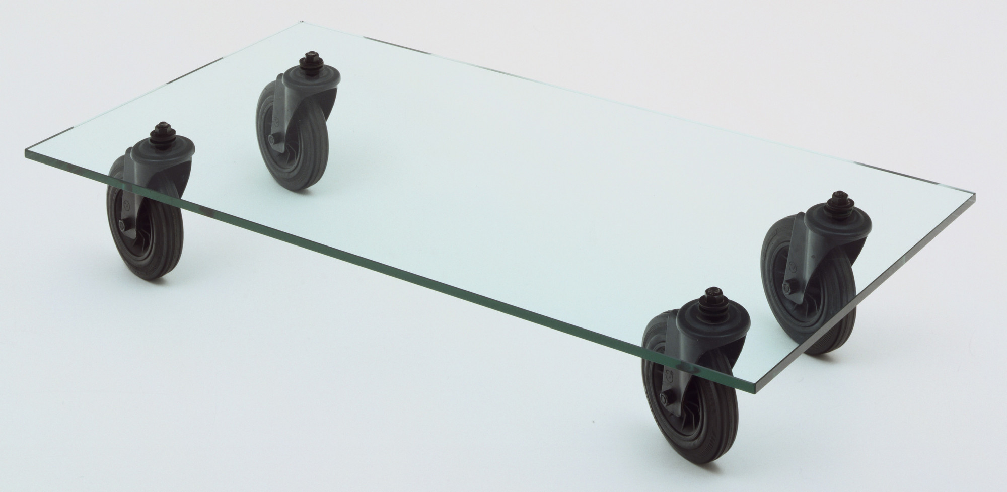 Gae Aulenti. Table with Wheels (model 2652). 1980