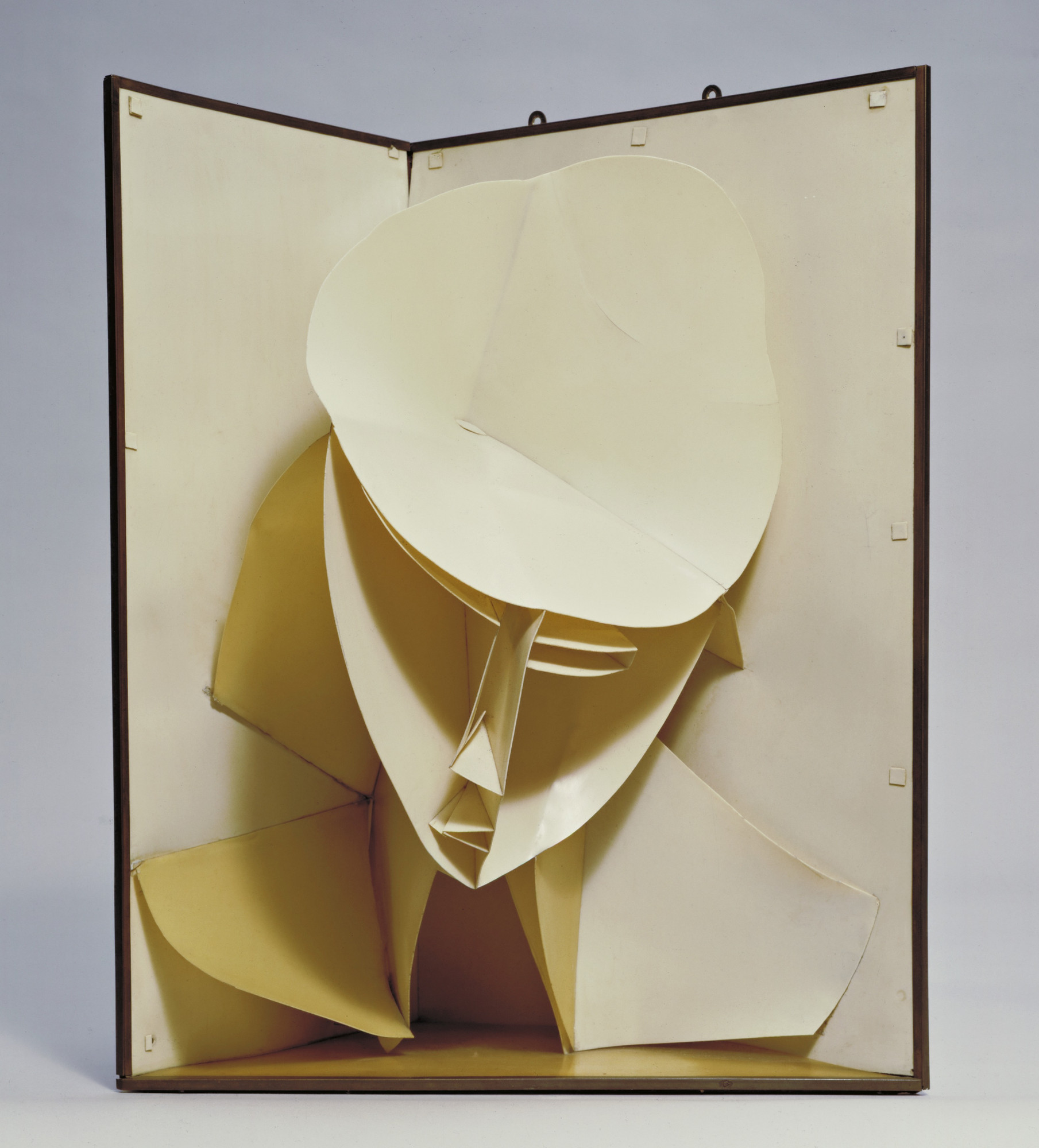 Naum Gabo. Head of a Woman. c. 1917-20 (after a work of 1916)