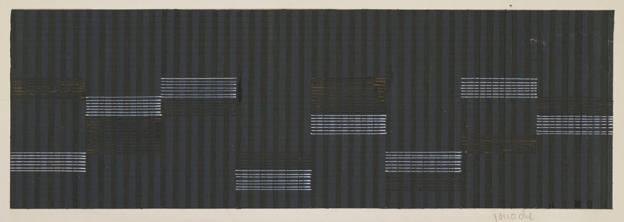 Anni Albers. Design for Theater Curtain, Oppeln. 1928