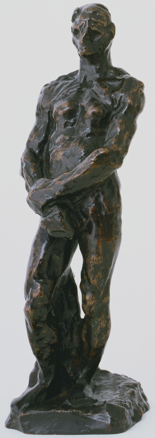 Auguste Rodin. Naked Figure Study for Balzac. c. 1894-95 (cast 1965)