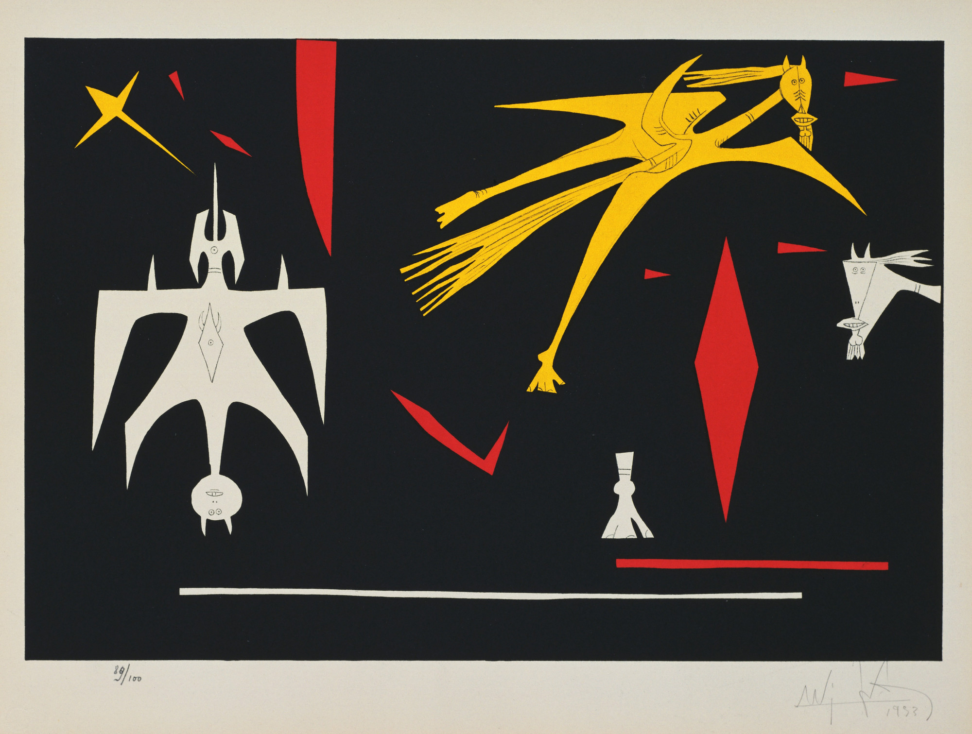 Wifredo Lam. Untitled. 1953