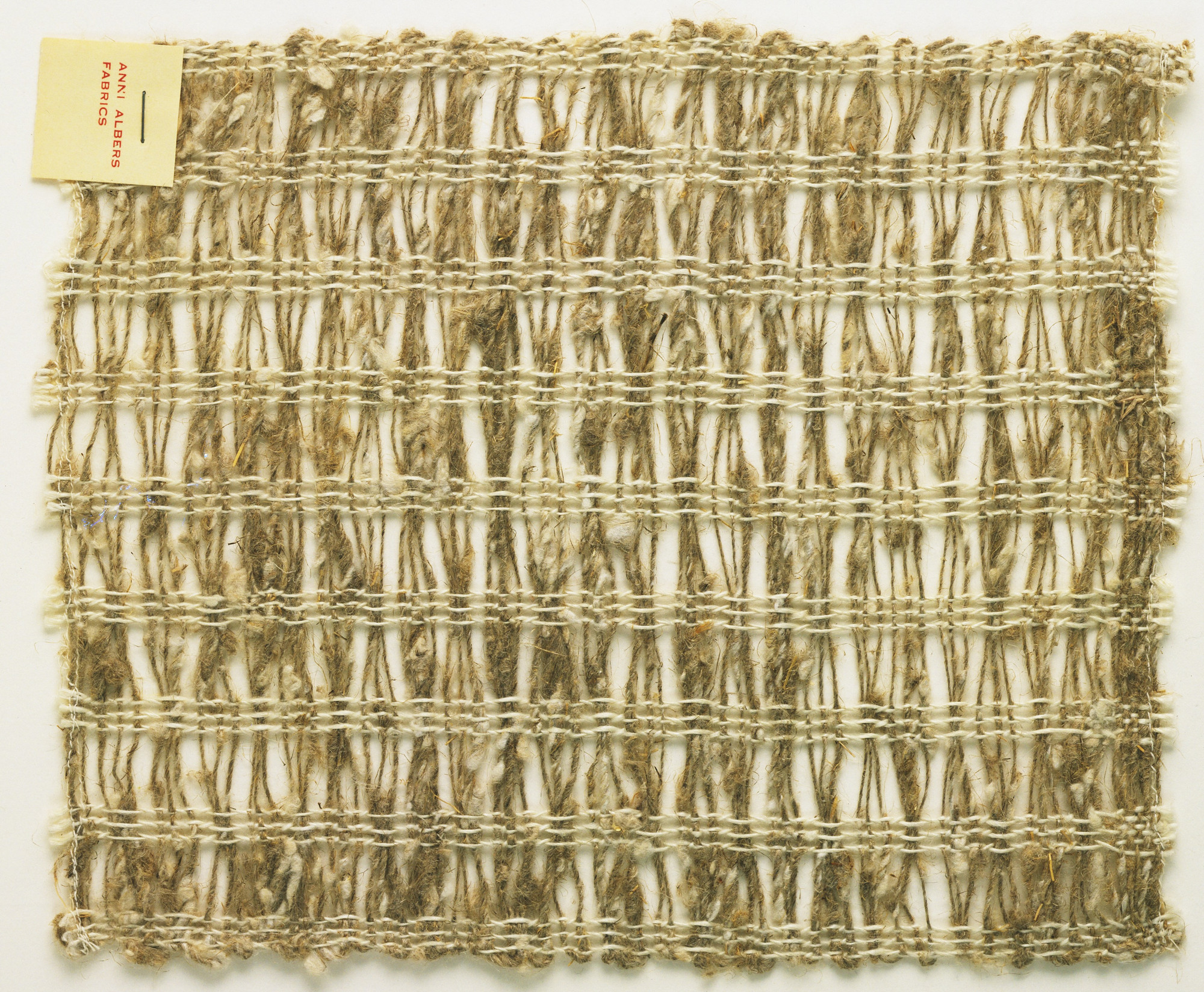 Anni Albers. Woven Fabric Sample. After 1933