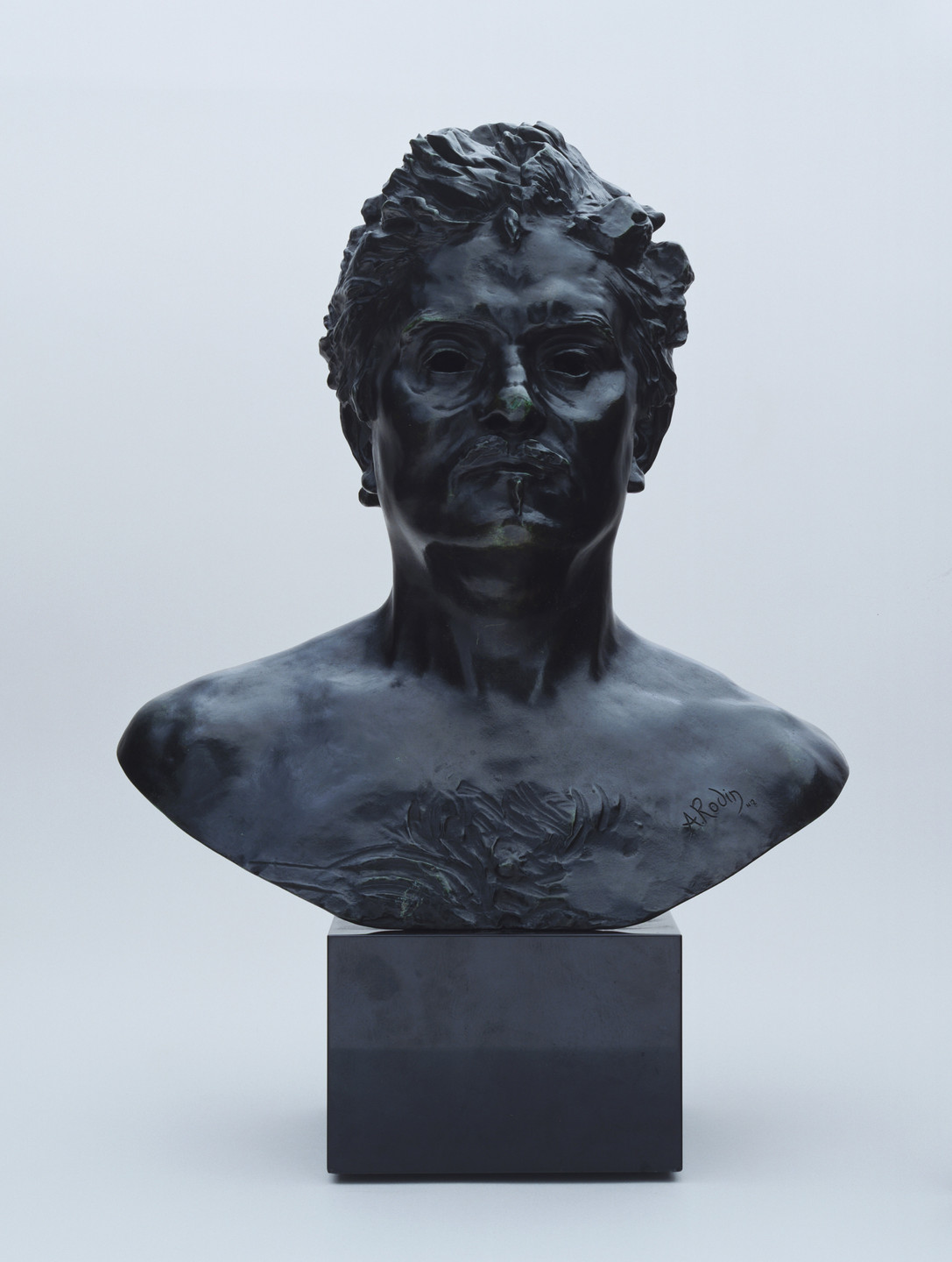 Auguste Rodin. Bust of the Young Balzac. 1891 (cast c. 1971)
