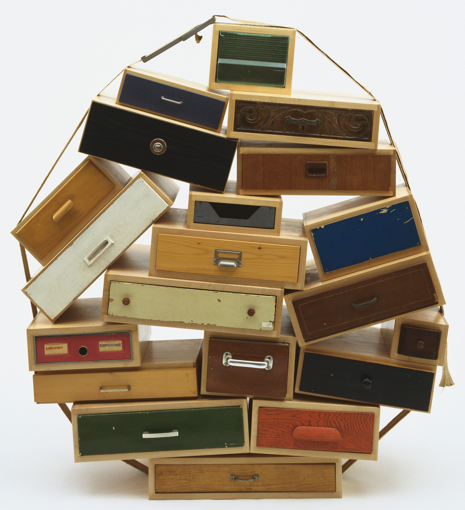 Tejo Remy. 'You Can't Lay Down Your Memory' Chest of Drawers. 1991