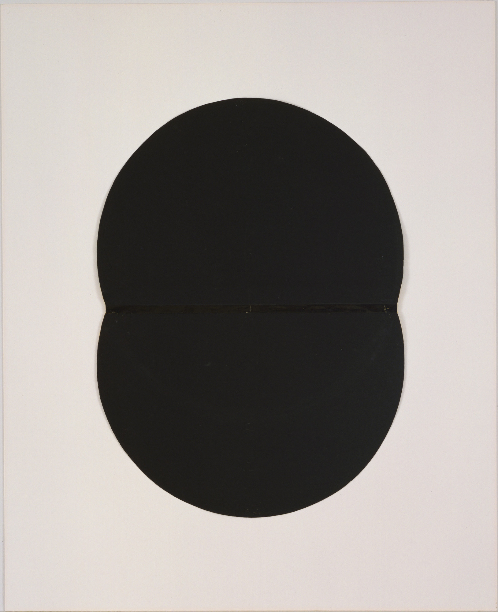 Ellsworth Kelly. Study for White Plaque: Bridge Arch and Reflection. (1951)