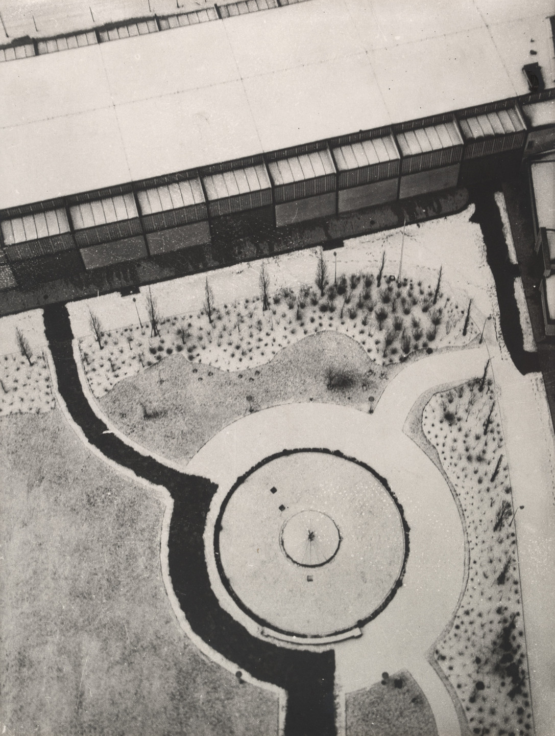 László Moholy-Nagy. From the Radio Tower, Berlin. 1928