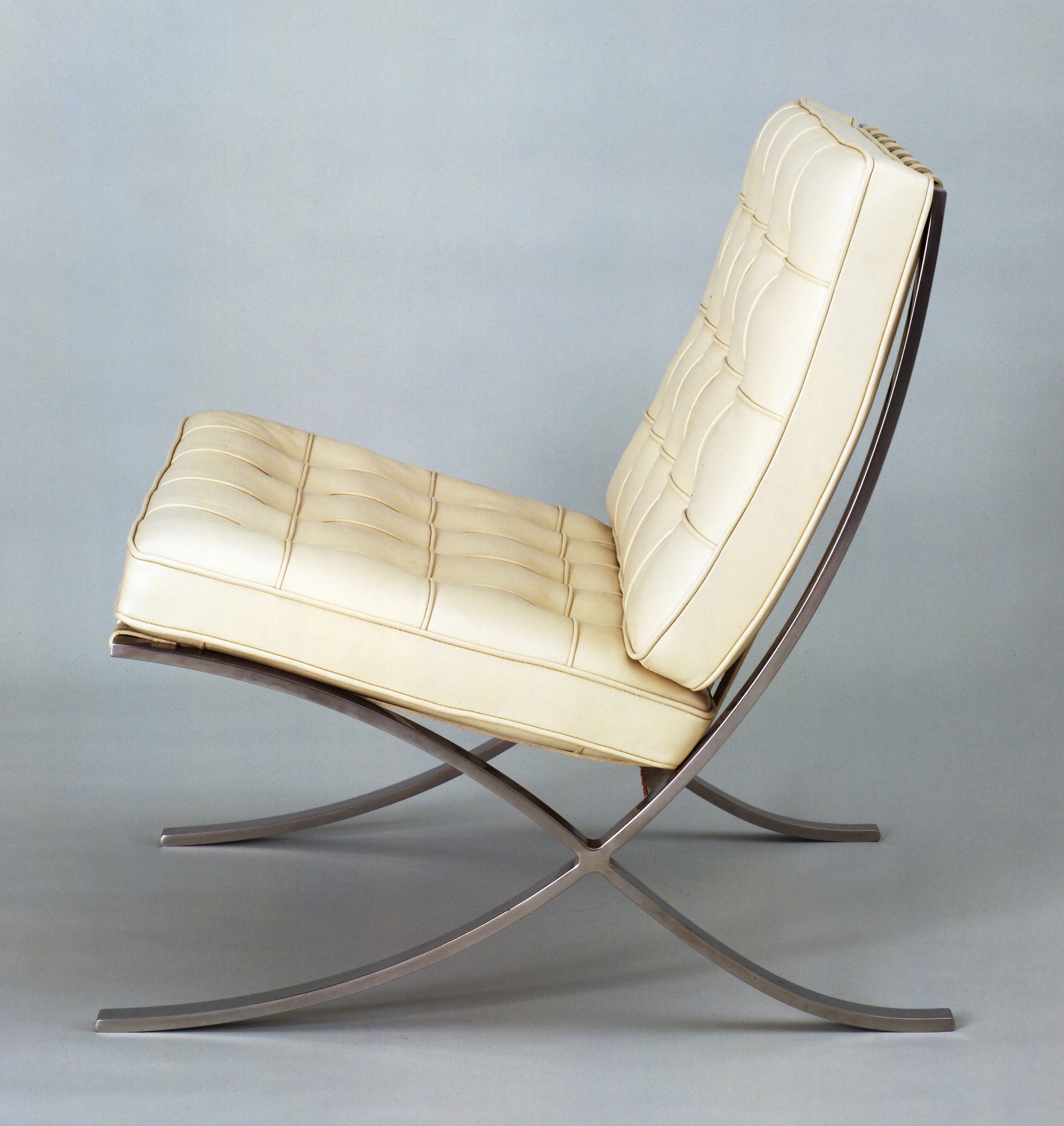 Ludwig Mies Van Der Rohe Barcelona Chair Designed 1929 This Example 1953
