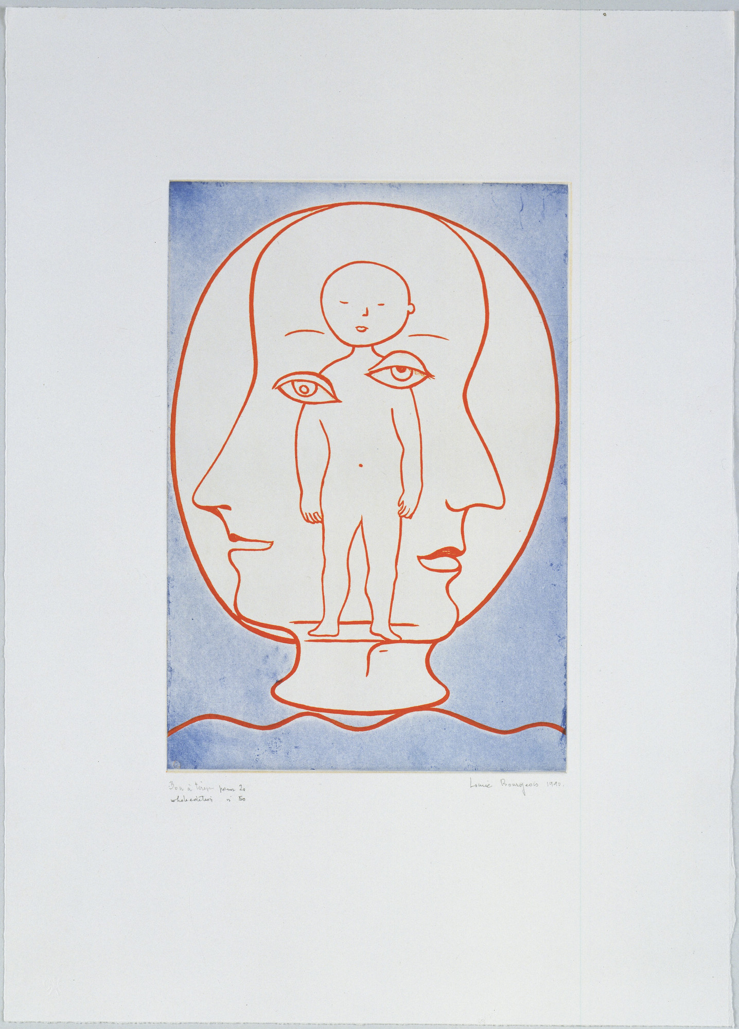 Louise Bourgeois. Self Portrait. 1990