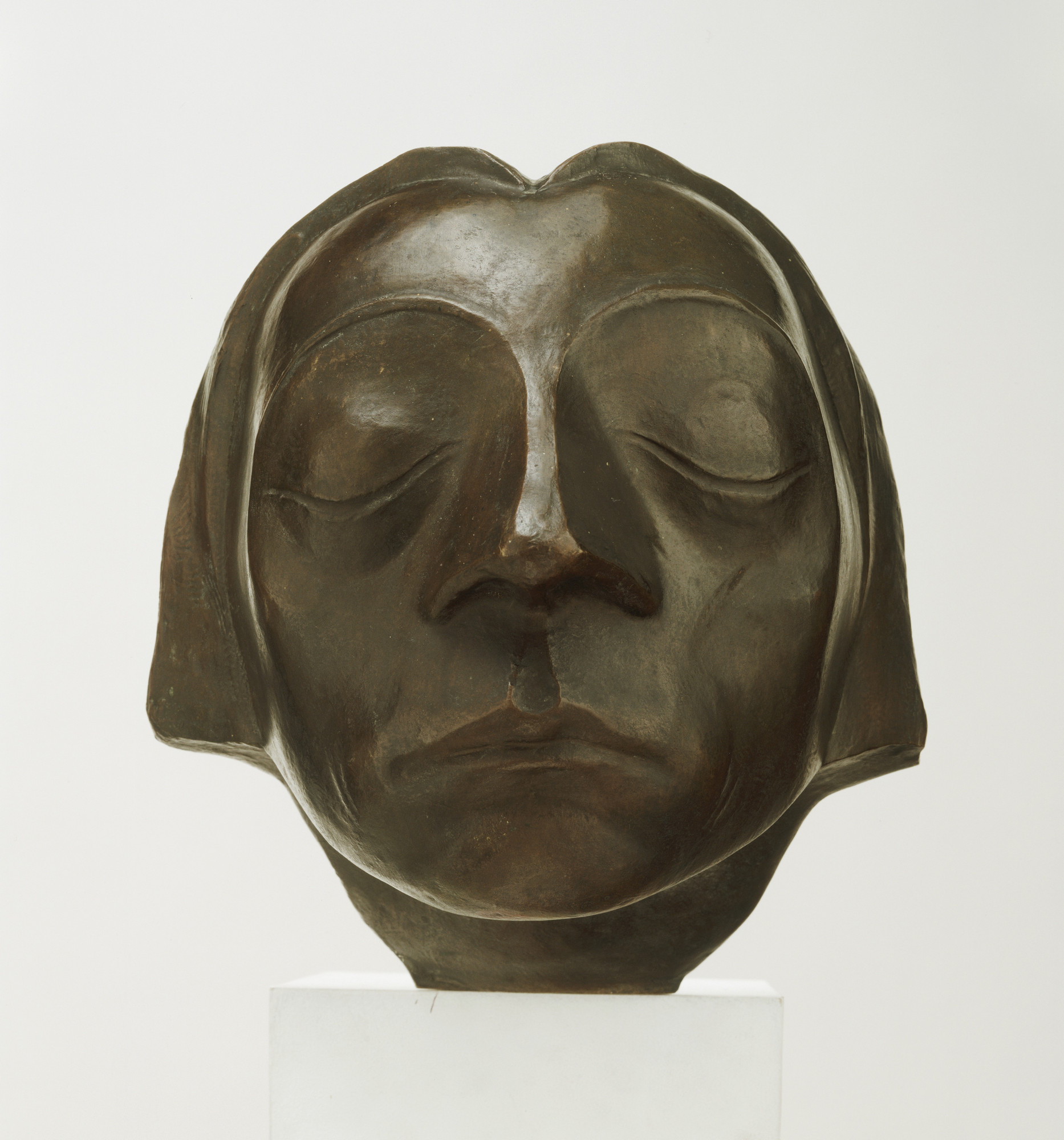 Ernst Barlach. Head. 1927 (cast 1930)