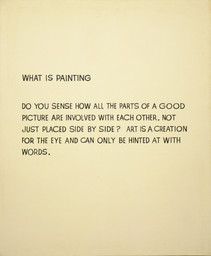 John Baldessari. What Is Painting. 1966-68
