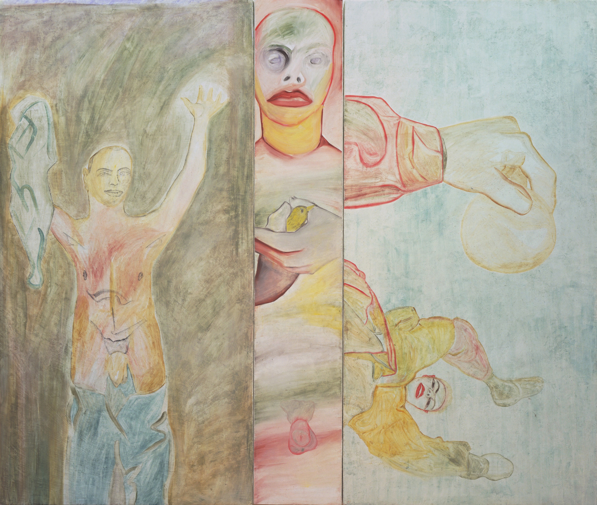 Francesco Clemente. Conversion to Her. 1983