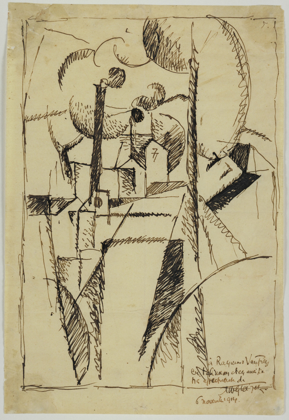Albert Gleizes. Landscape with Chimneys. (1913)