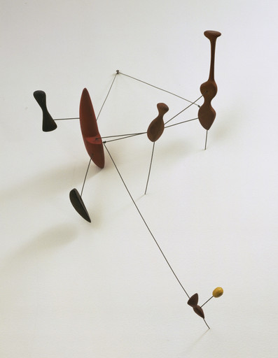 Alexander Calder. Constellation with Red Object. Roxbury, Connecticut, 1943