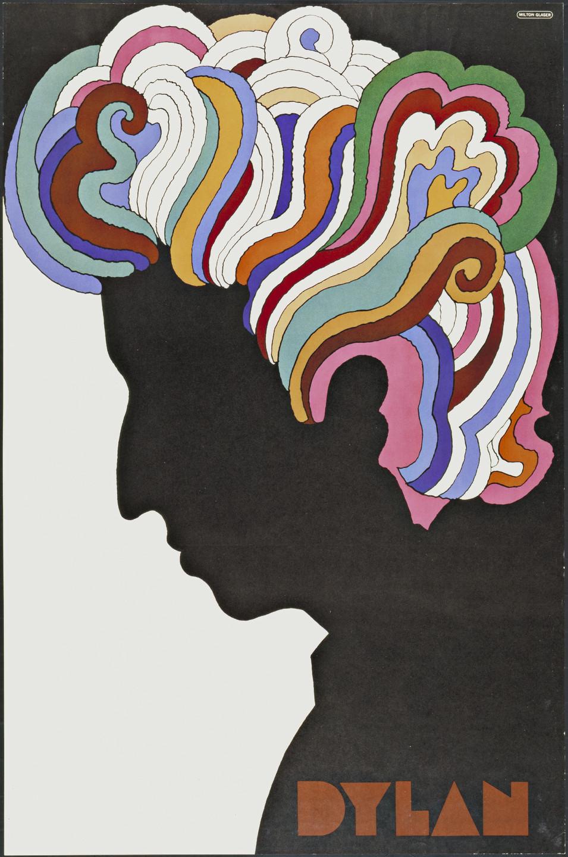 Milton Glaser. Dylan. 1966 | MoMA