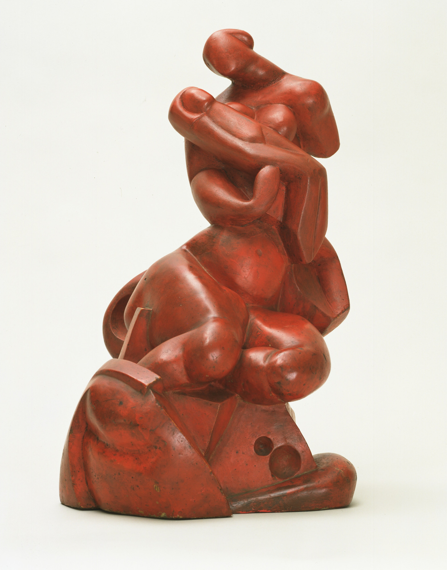 Aleksandr Archipenko. Madonna of the Rocks. 1912