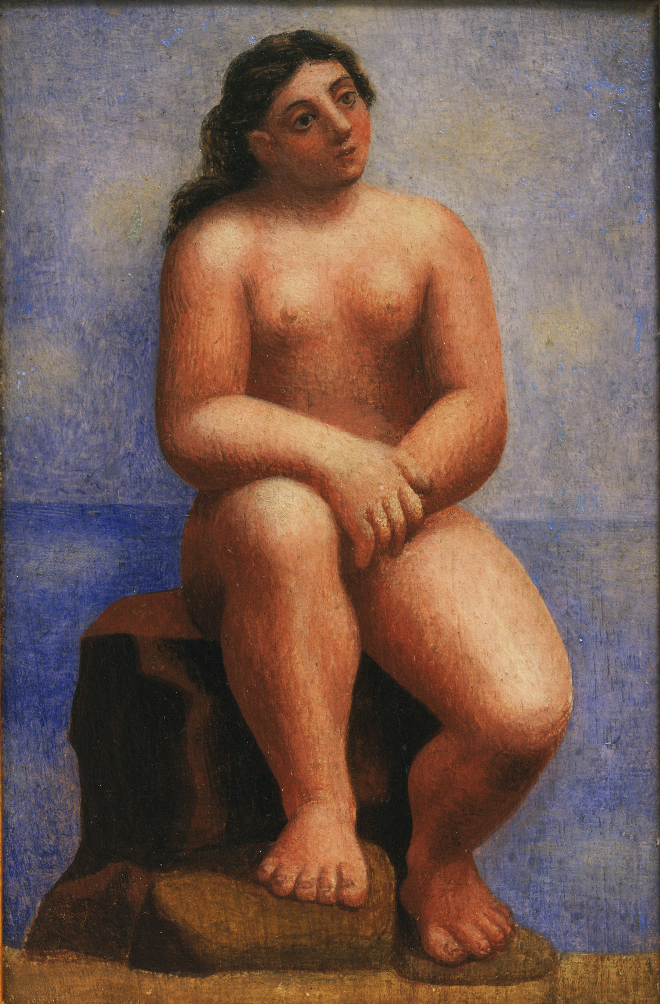 Pablo Picasso. Nude Seated on a Rock. Fontainebleau, summer 1921