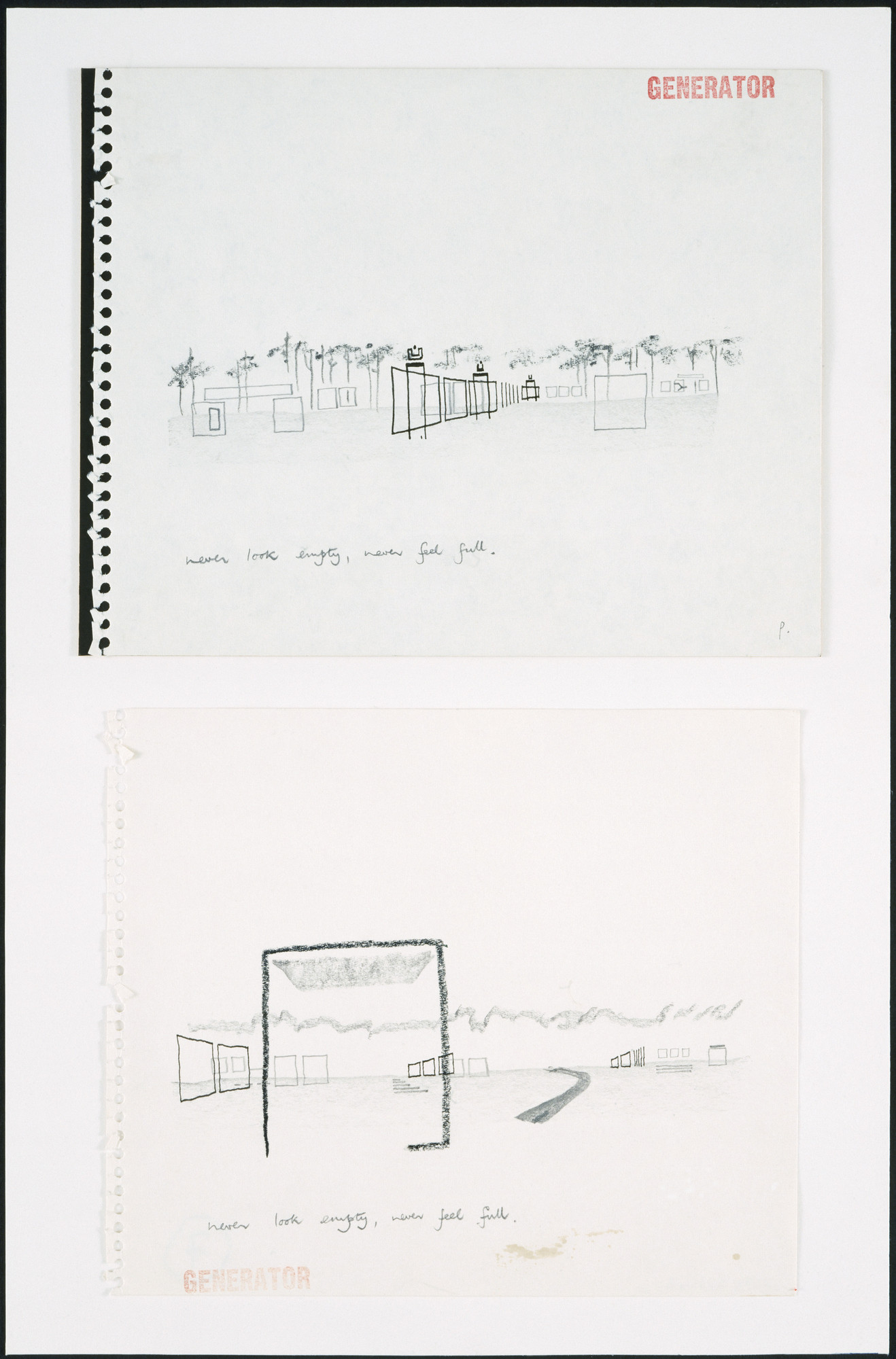 Cedric Price. Generator Project, White Oak, Florida, Overriding architectural perspectives. 1978-80.