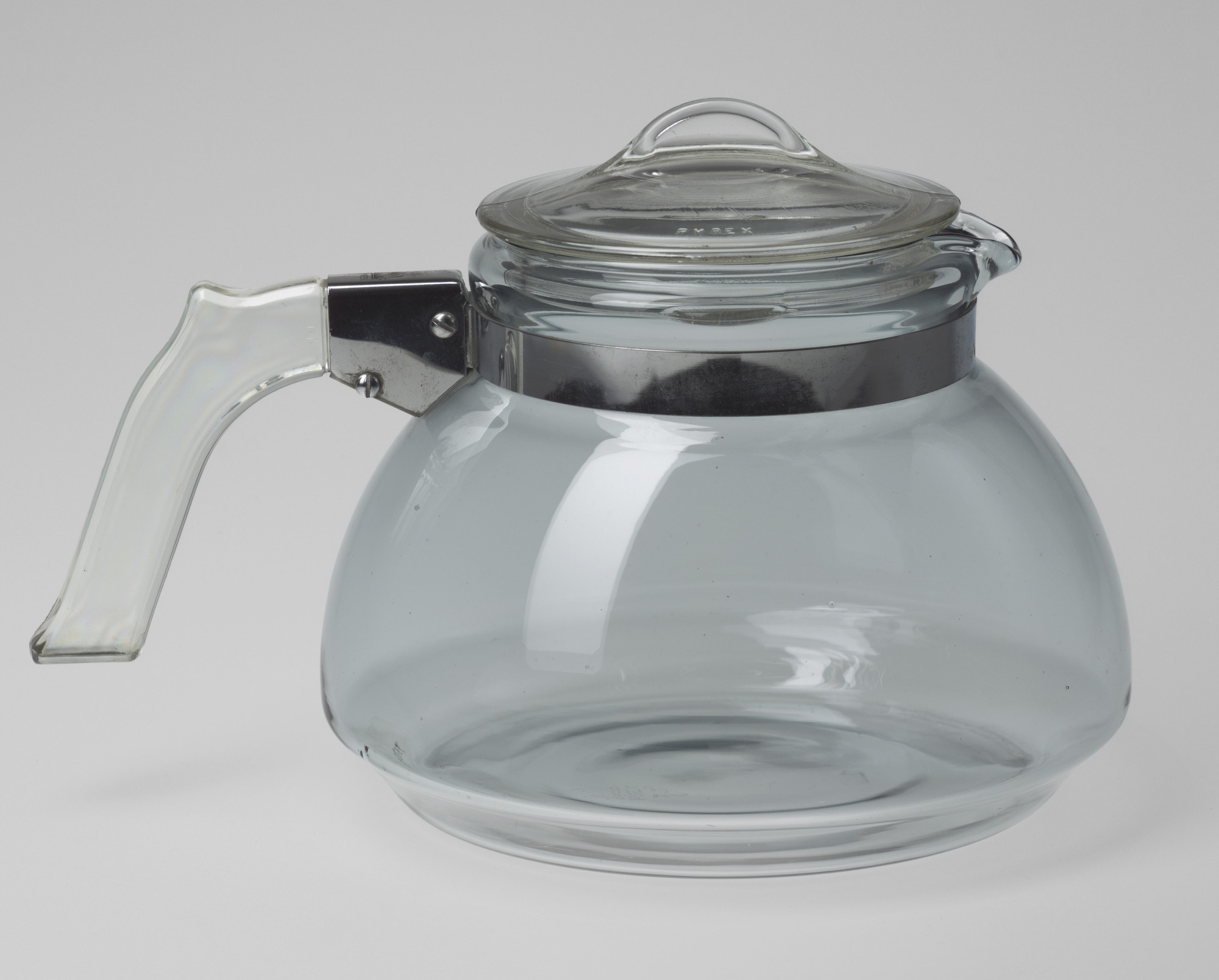 Corning Glass Works, Corning, NY. Tea Kettle. 1940