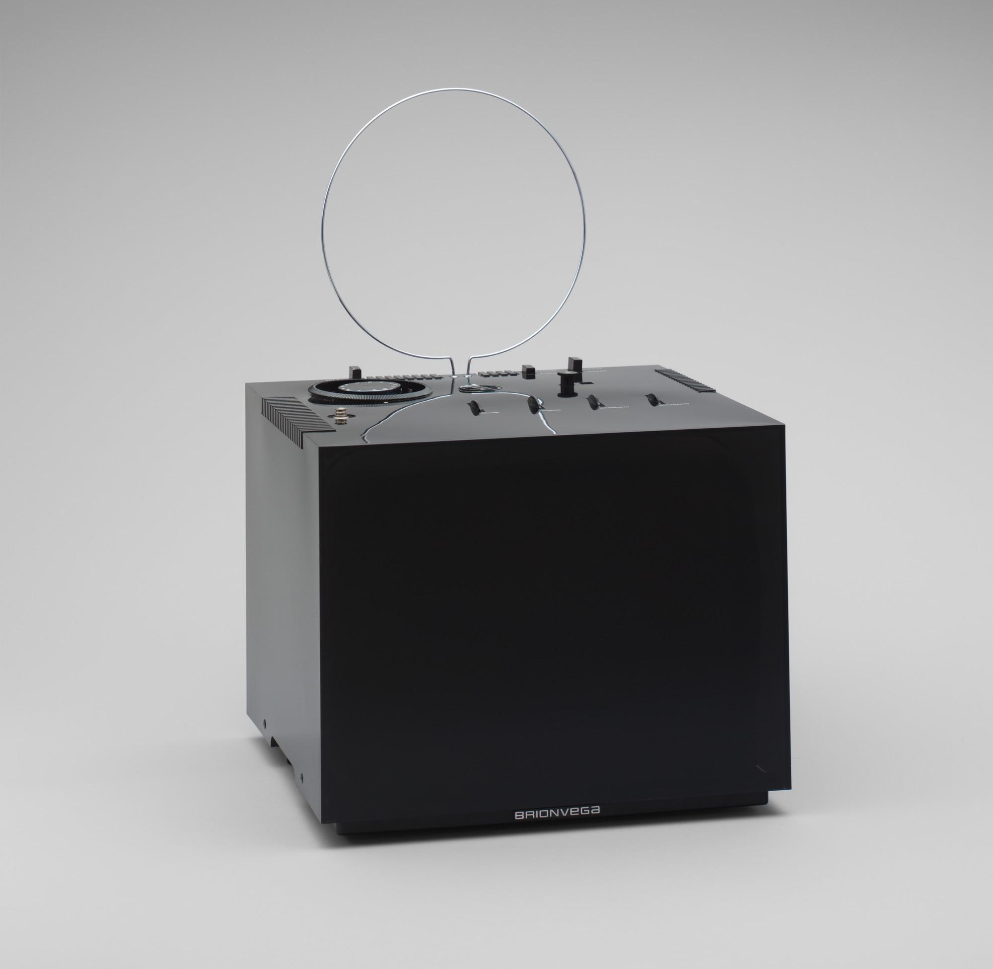 Marco Zanuso, Richard Sapper. Black 201 Television Set. 1969 | MoMA