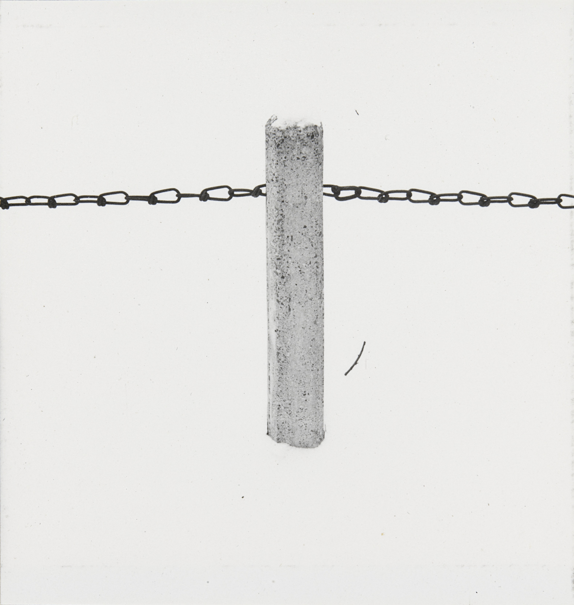 Harry Callahan. Objects in snow. 1947