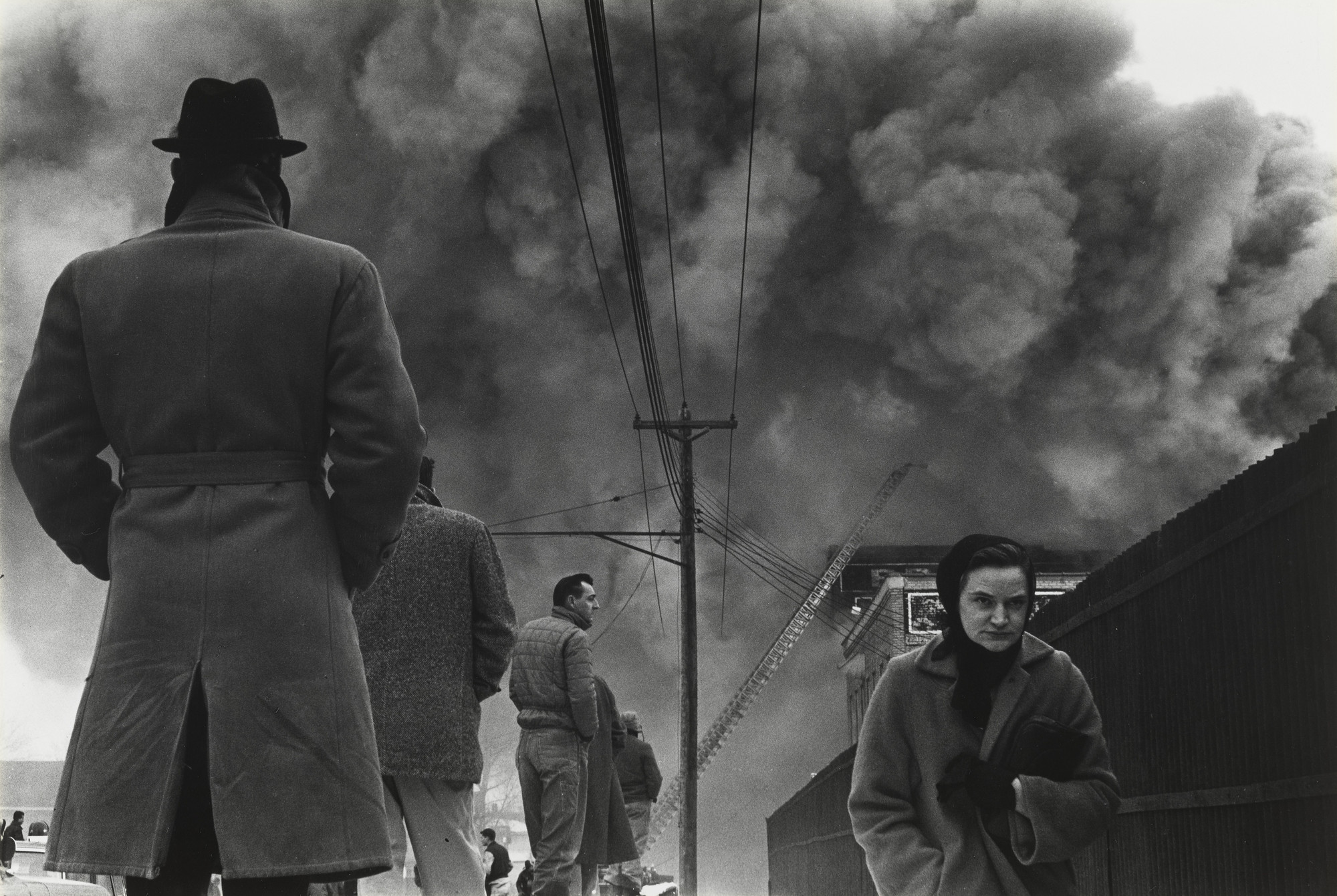 Irwin B. Klein. Minneapolis Fire. 1962