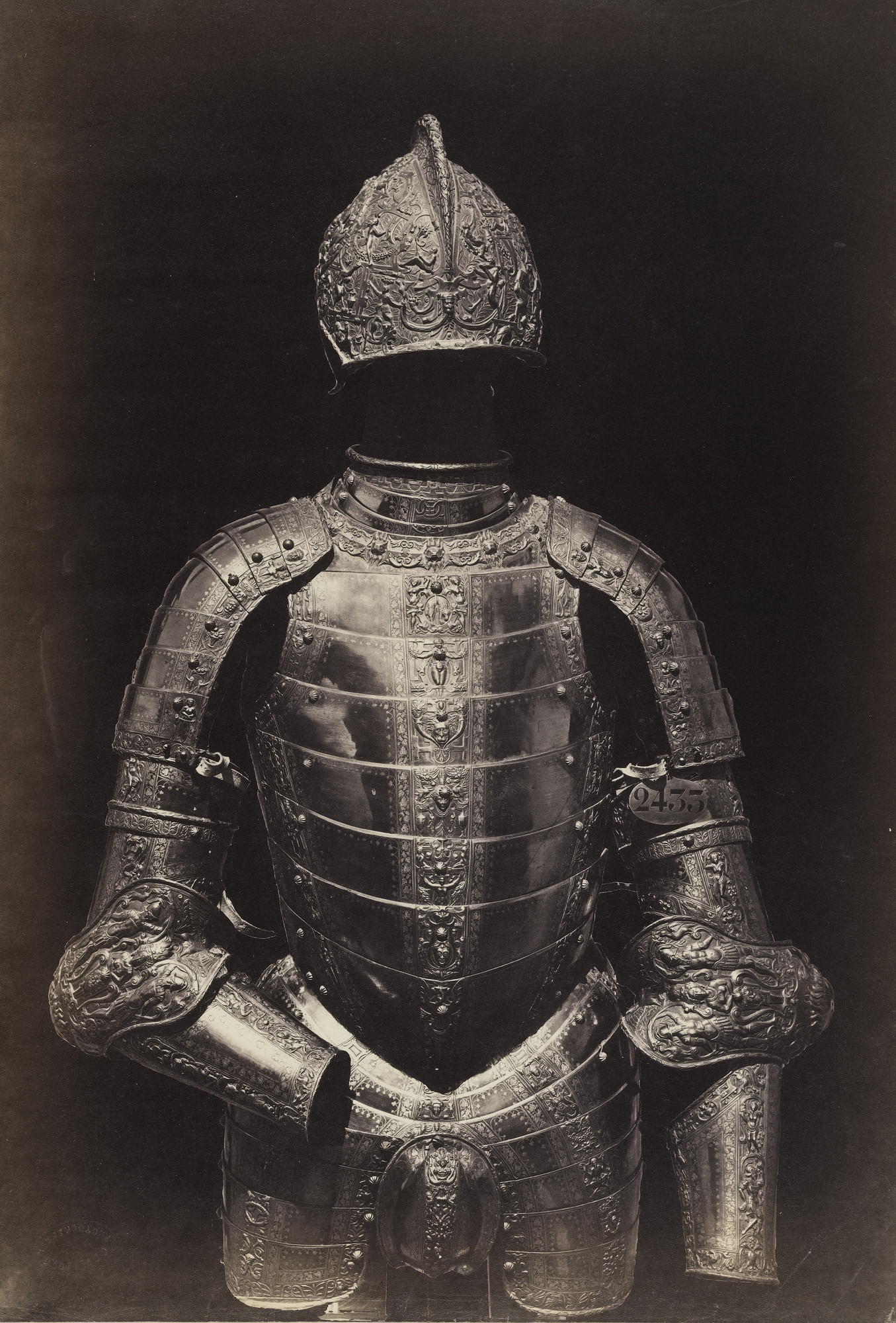 Charles Clifford. Suit of Armor, Spanish, Sixteenth Century. c. 1857