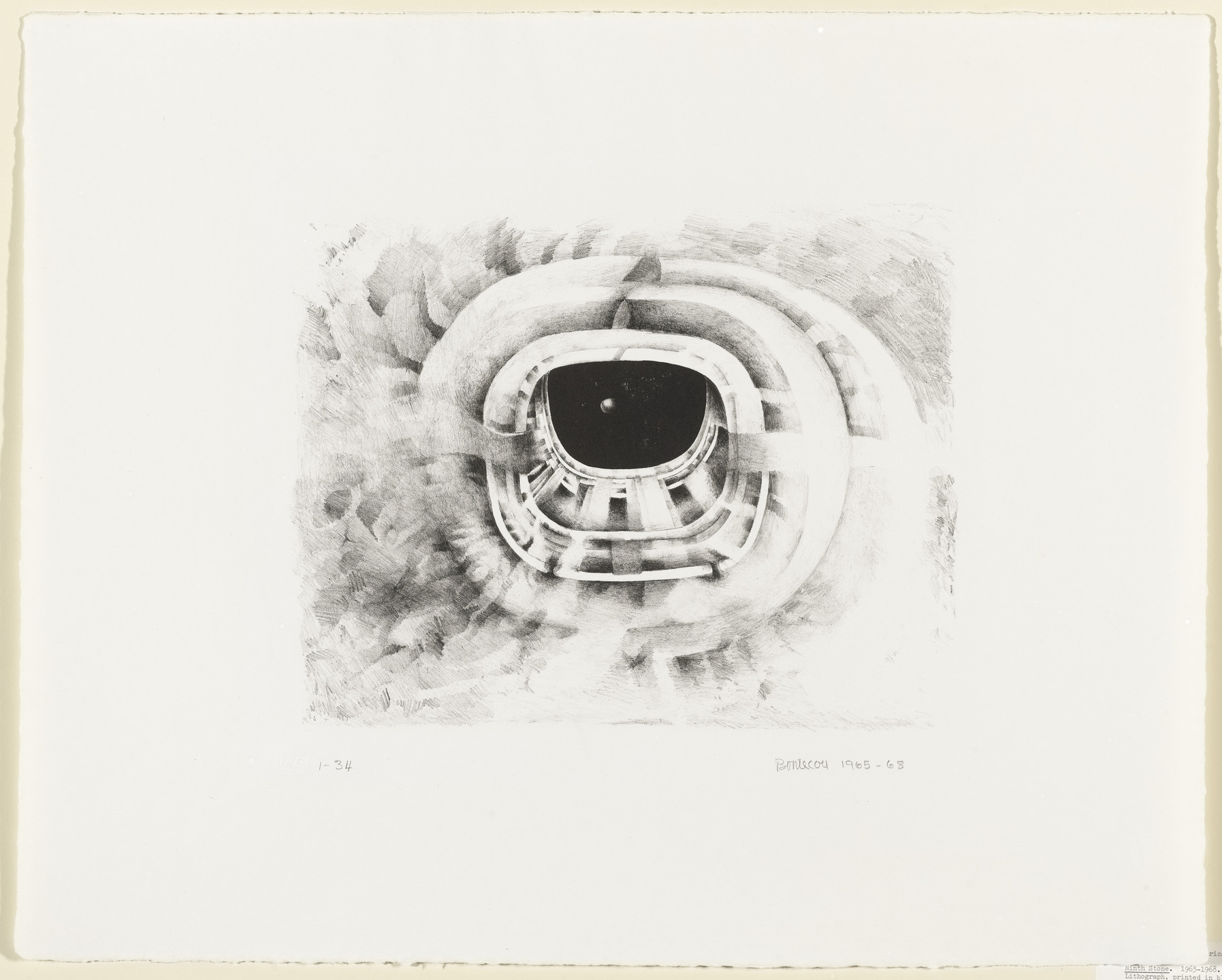 Lee Bontecou. Ninth Stone. 1965–68