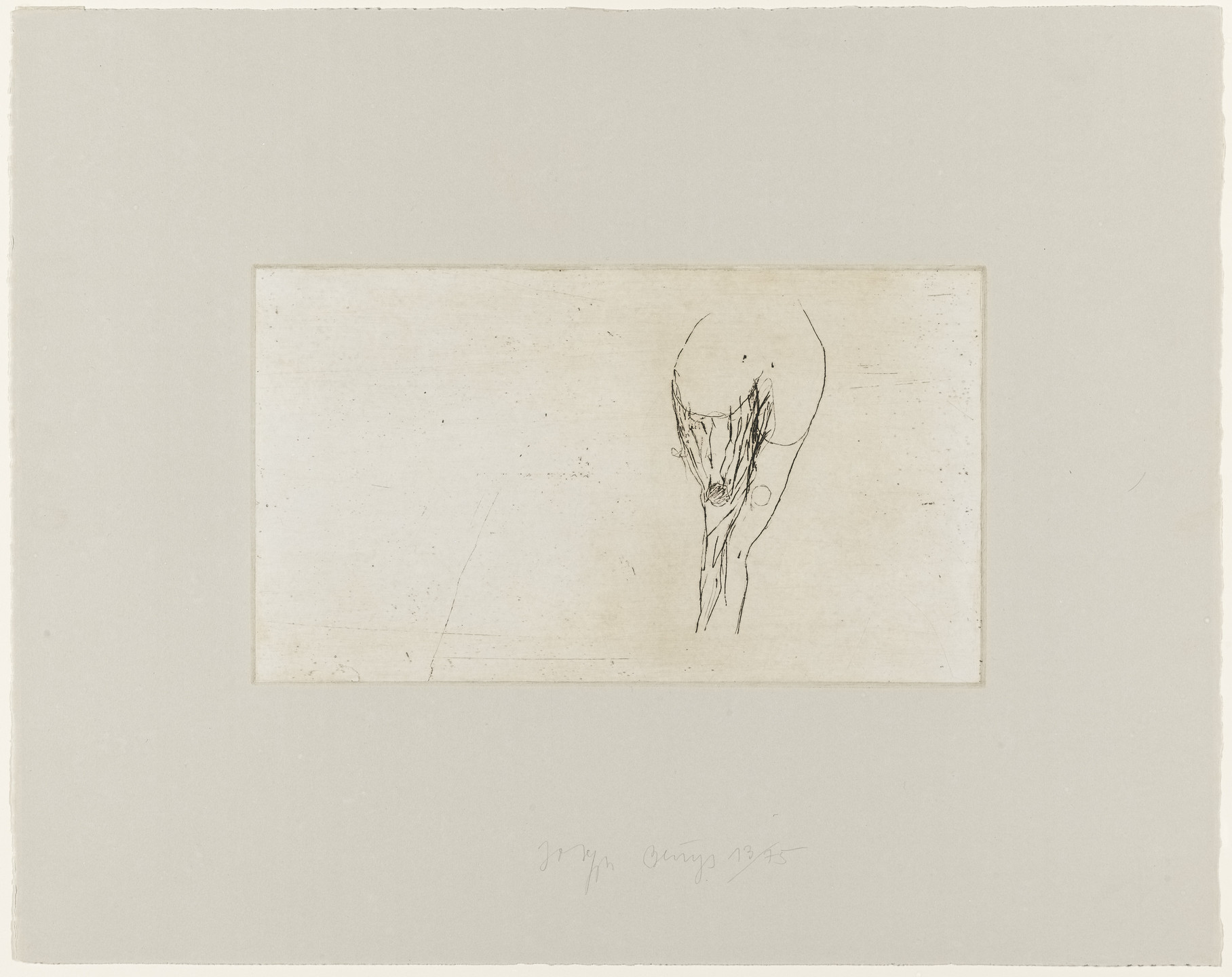 Joseph Beuys. Female Torso (Frauentorso). 1985