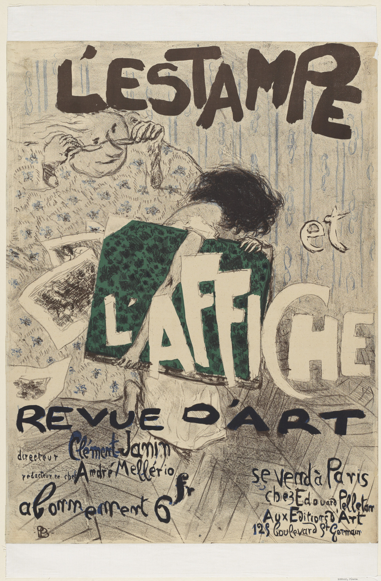 Pierre Bonnard. The Print and the Poster (L'Estampe et l'affiche). 1897