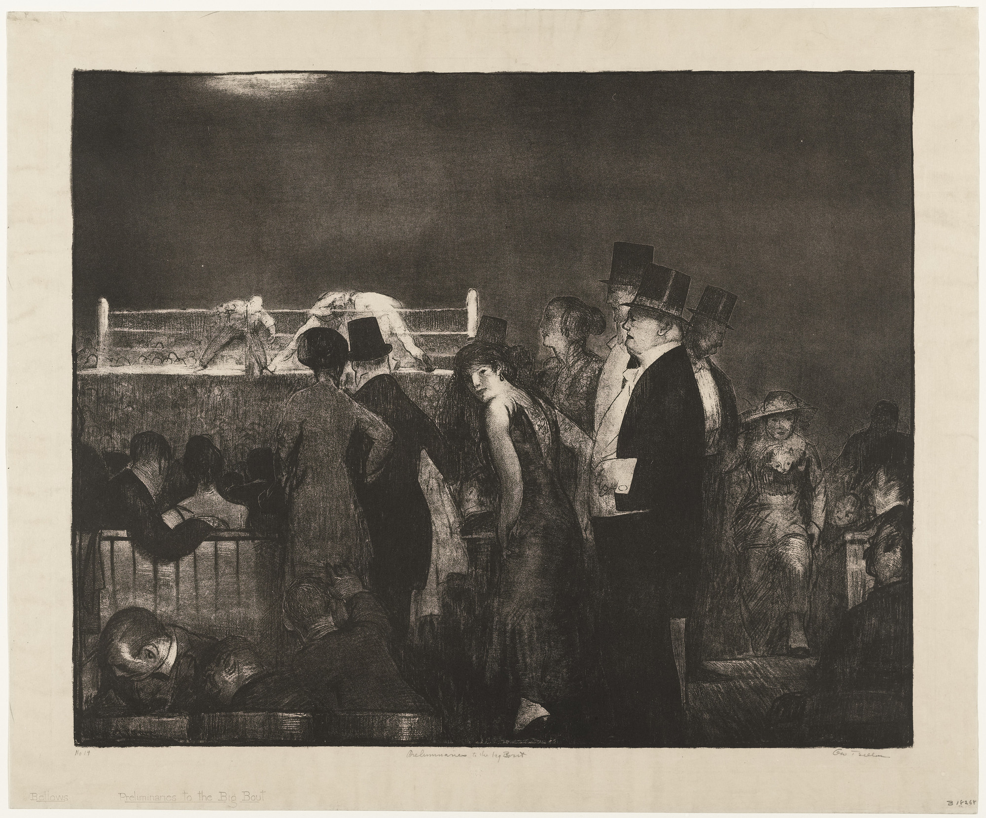 George Bellows. Preliminaries. 1916